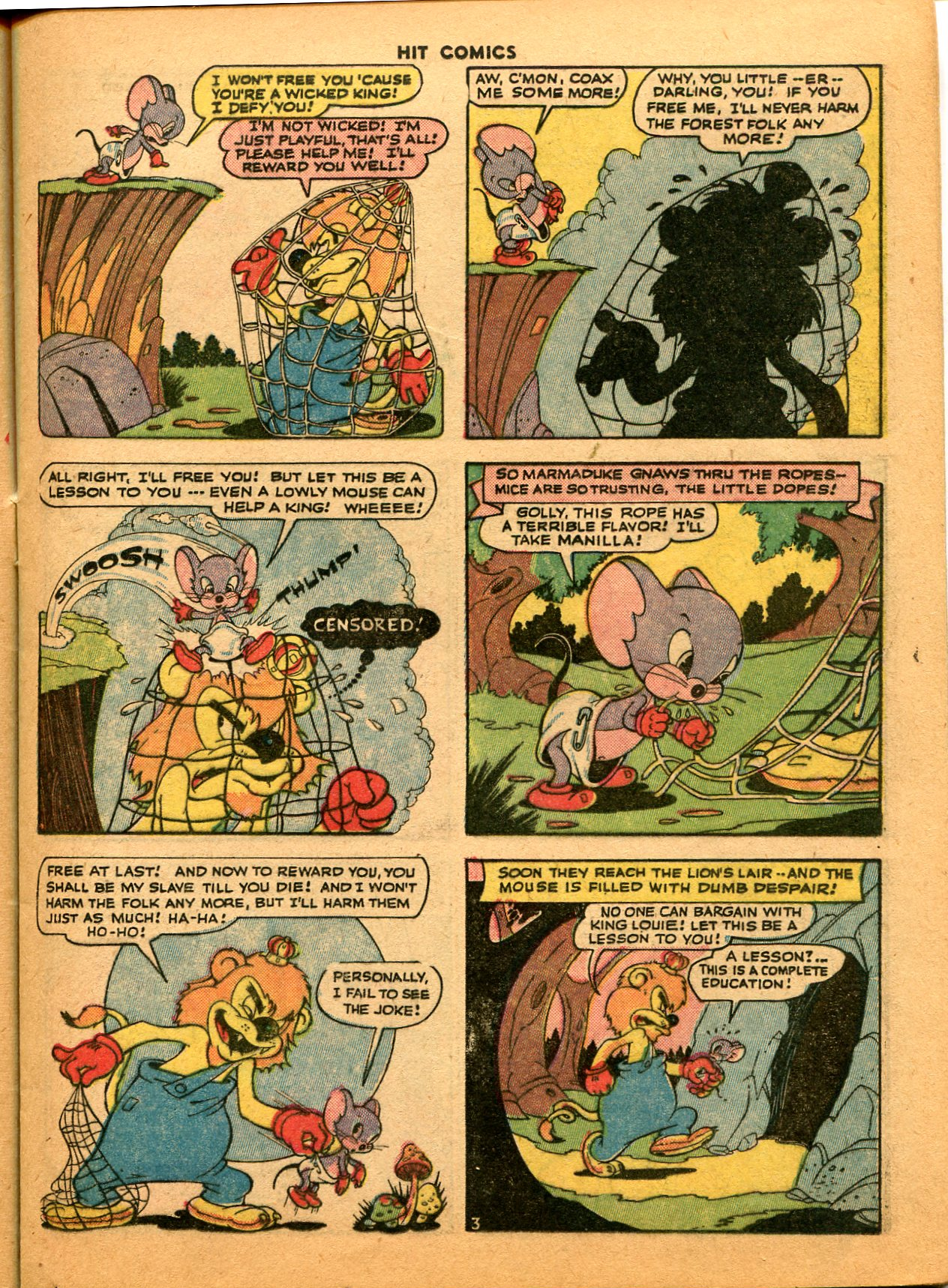 Read online Hit Comics comic -  Issue #35 - 21