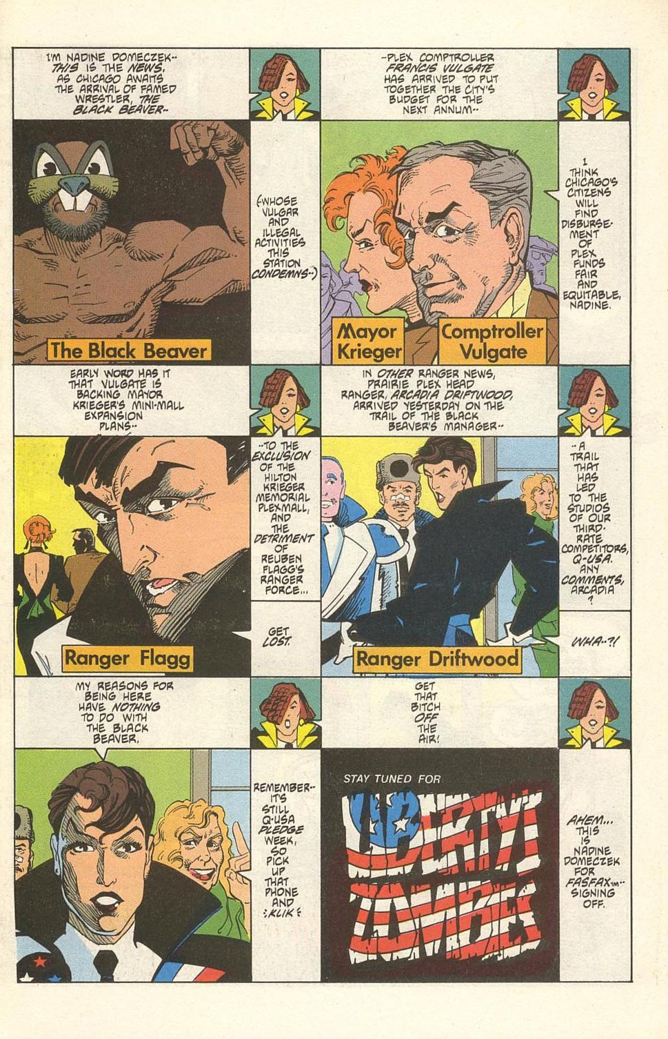 Read online American Flagg! comic -  Issue #32 - 3