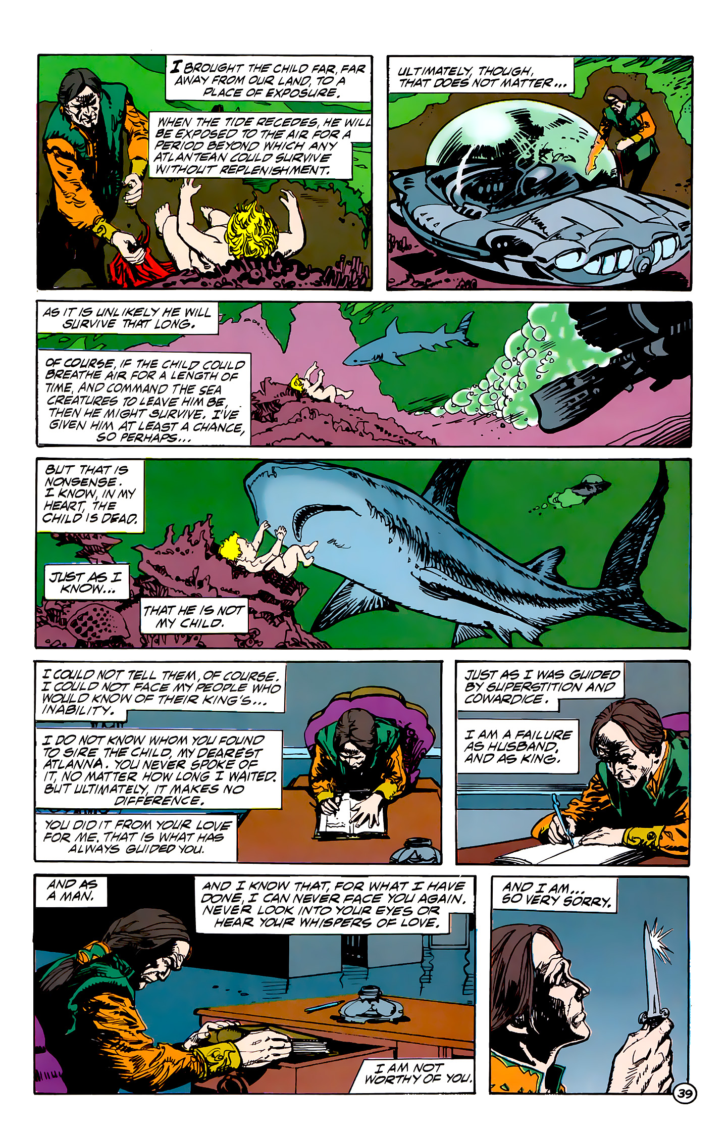 Read online Atlantis Chronicles comic -  Issue #7 - 40