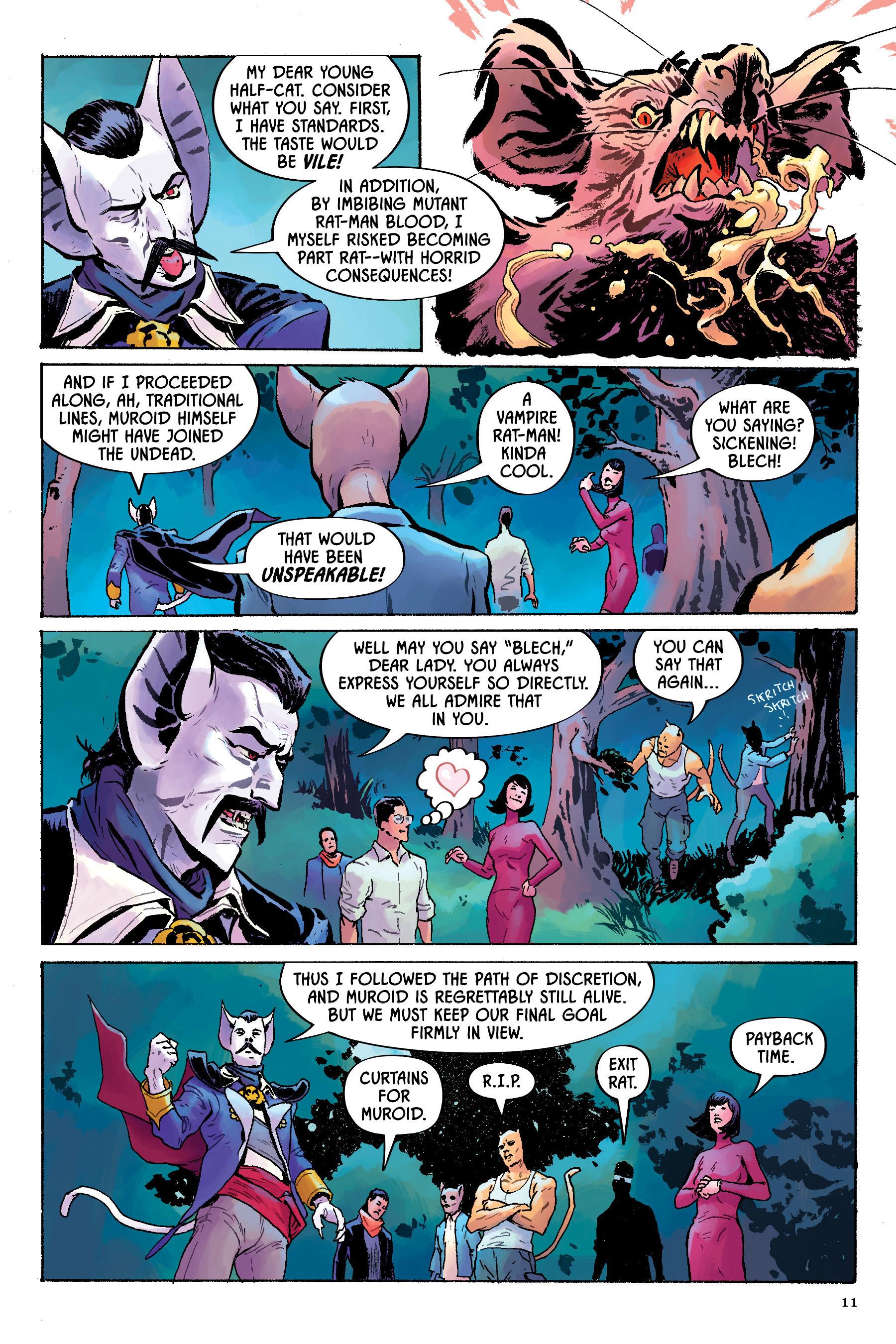 Read online Angel Catbird comic -  Issue # TPB 2 - 12