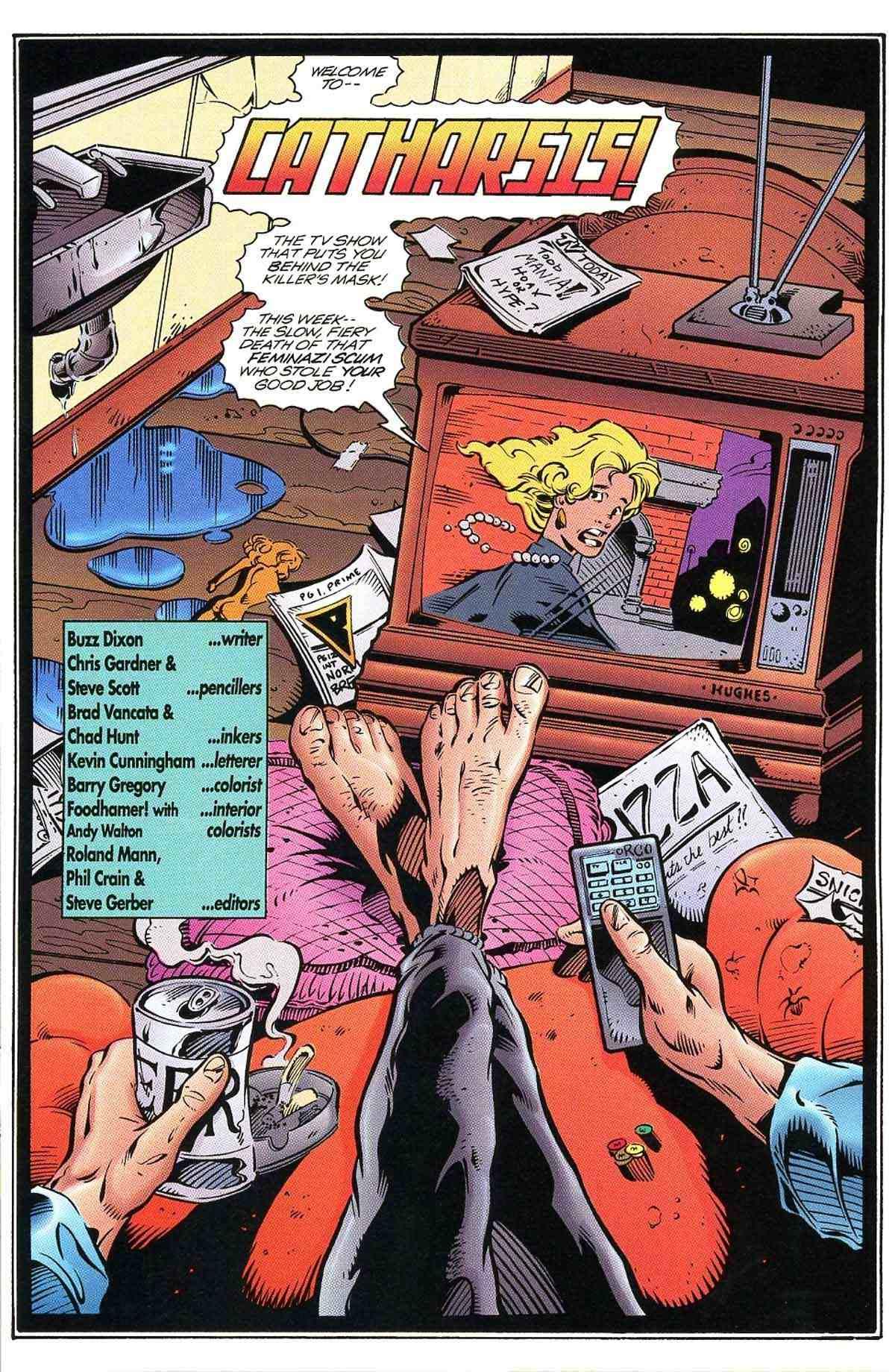 Read online Ultraverse Premiere comic -  Issue #10 - 21