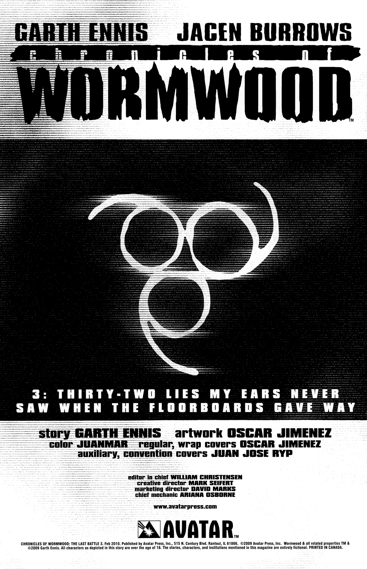 Read online Chronicles of Wormwood: The Last Battle comic -  Issue #3 - 3