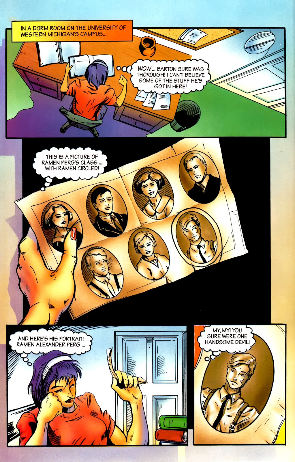 Read online Perg comic -  Issue #2 - 20