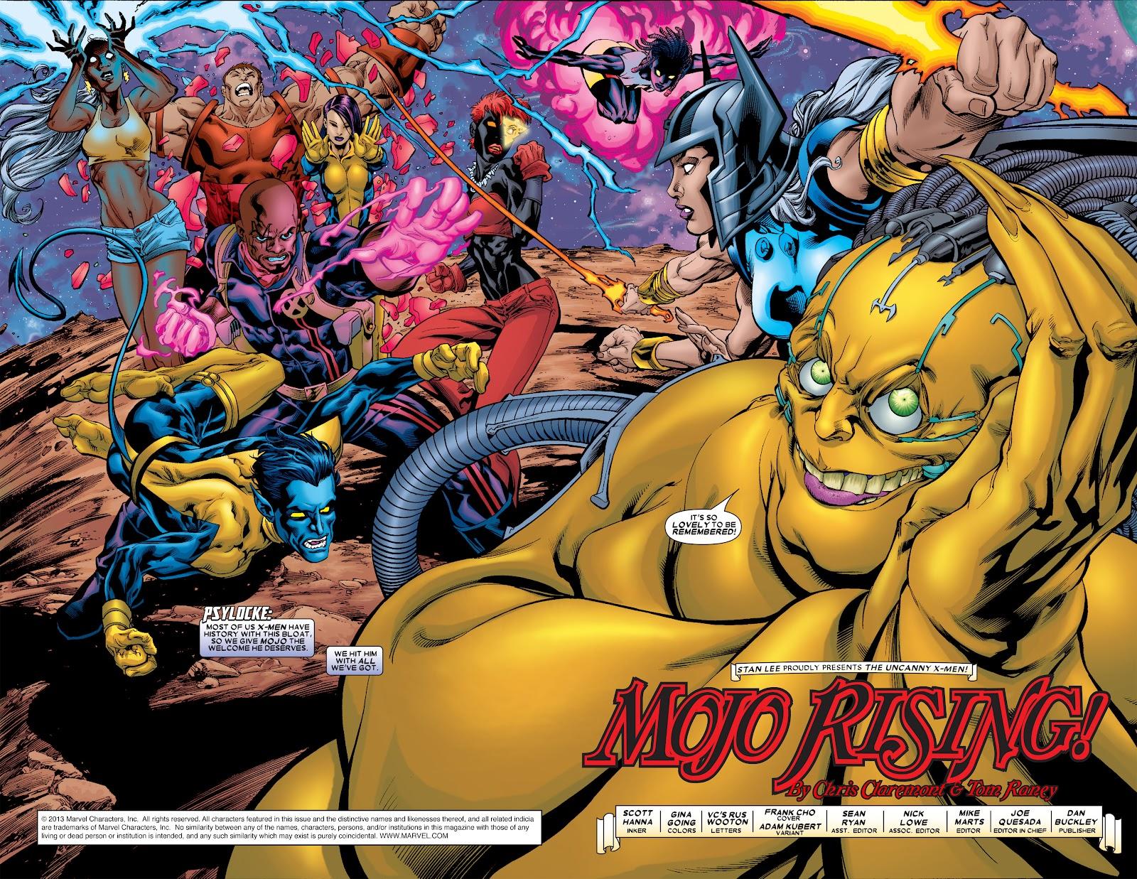 Uncanny X-Men (1963) issue 461 - Page 2