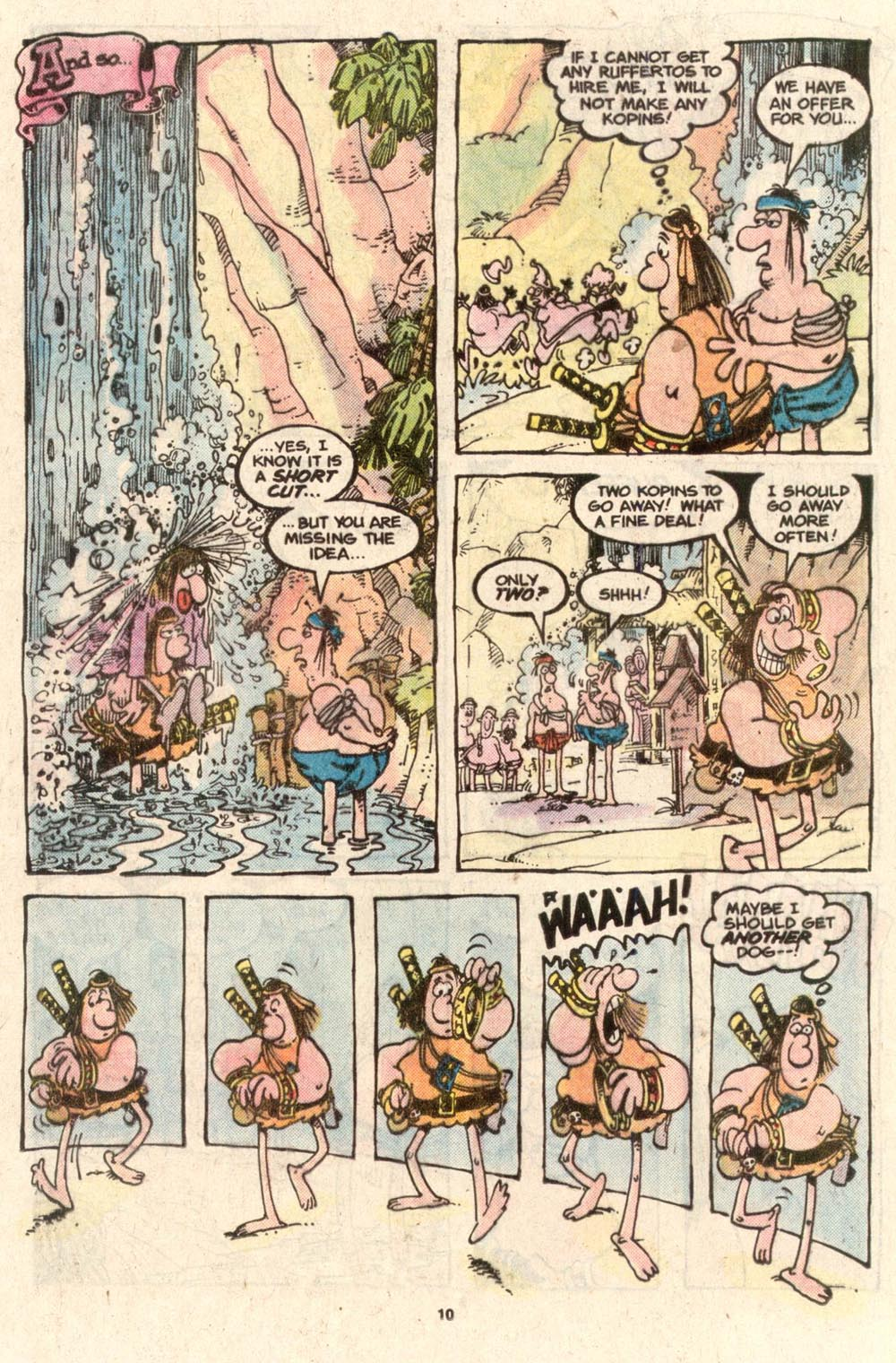 Read online Sergio Aragonés Groo the Wanderer comic -  Issue #39 - 10