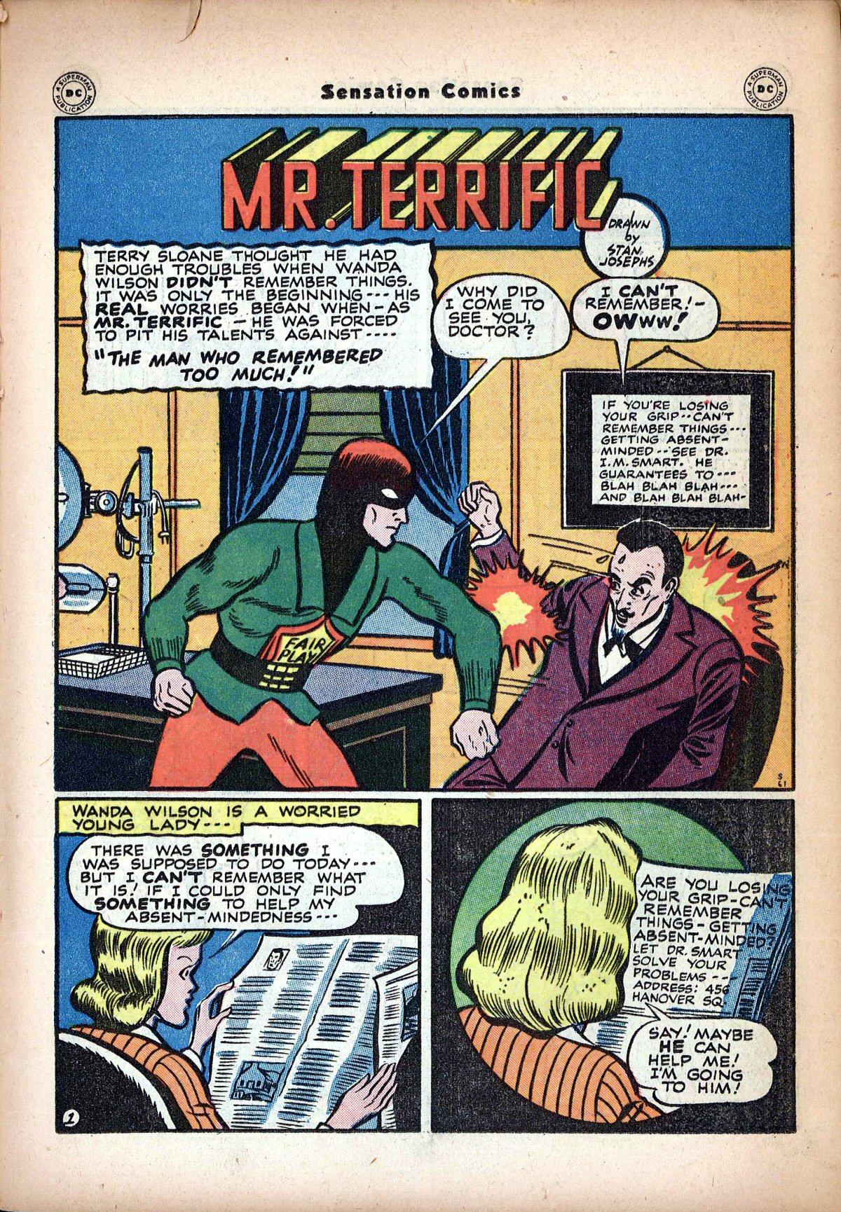 Read online Sensation (Mystery) Comics comic -  Issue #62 - 35