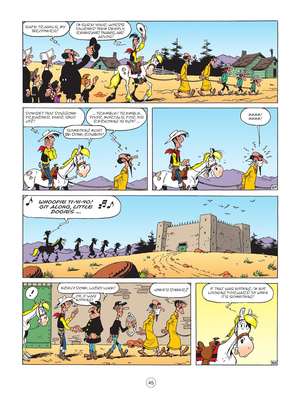 A Lucky Luke Adventure issue 73 - Page 47