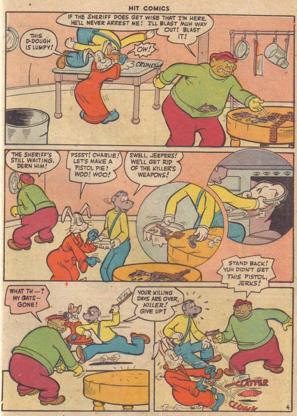 Read online Hit Comics comic -  Issue #45 - 50