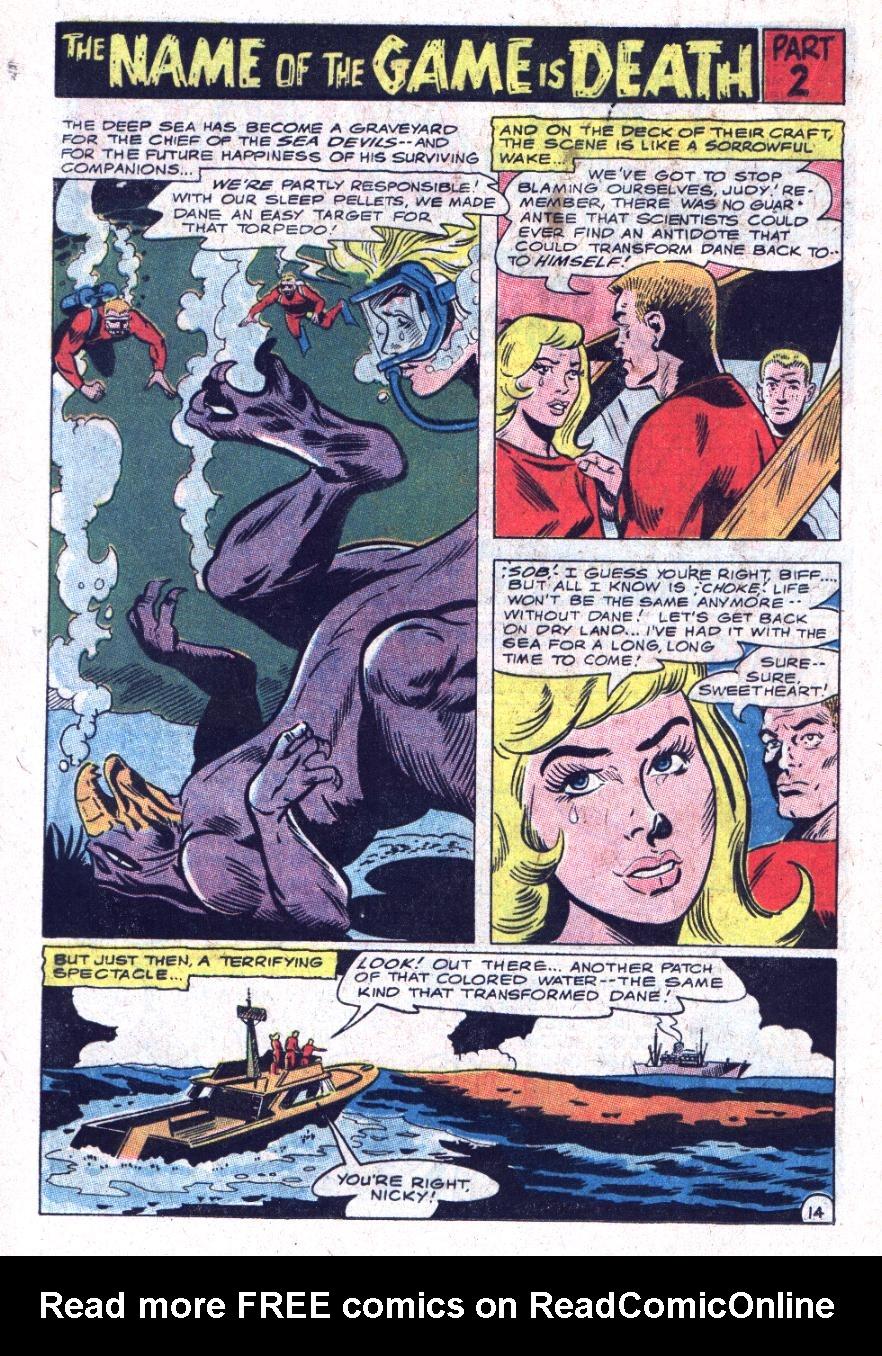 Read online Sea Devils comic -  Issue #35 - 21