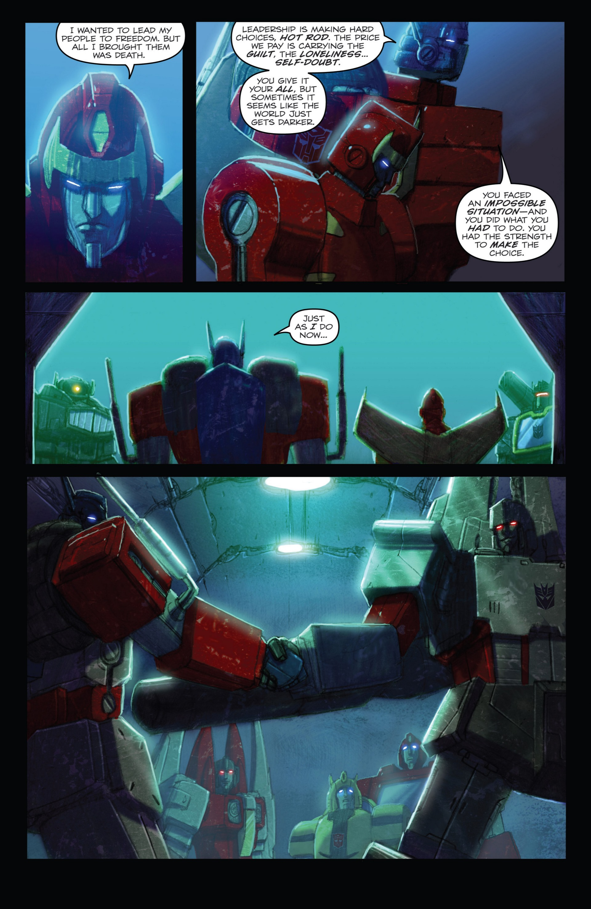 Read online Transformers: Autocracy comic -  Issue # Full - 69