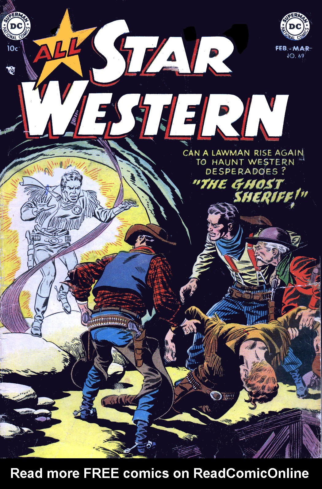 Read online All-Star Western (1951) comic -  Issue #69 - 1