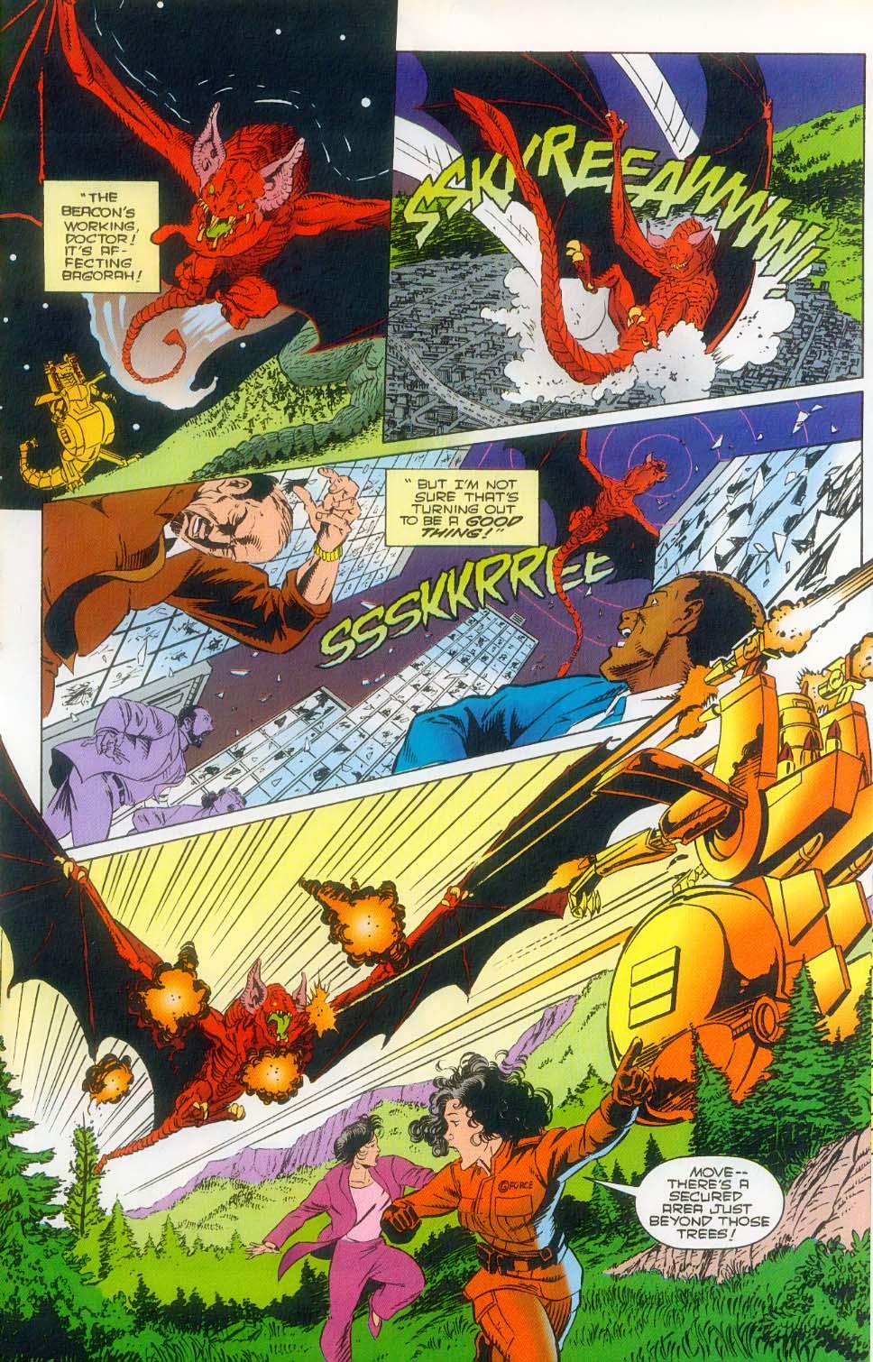 Godzilla (1995) Issue #3 #4 - English 21