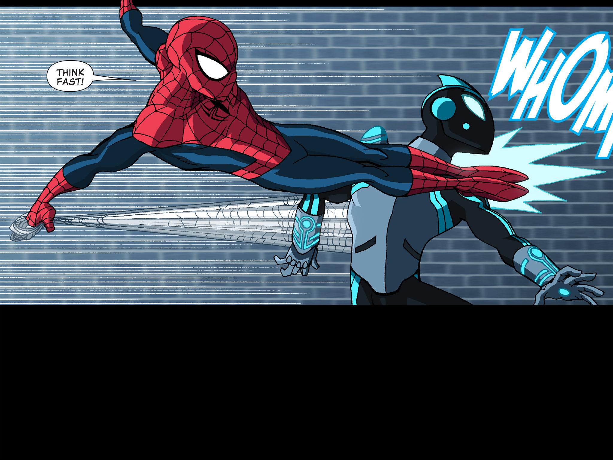 Read online Ultimate Spider-Man (Infinite Comics) (2015) comic -  Issue #12 - 27