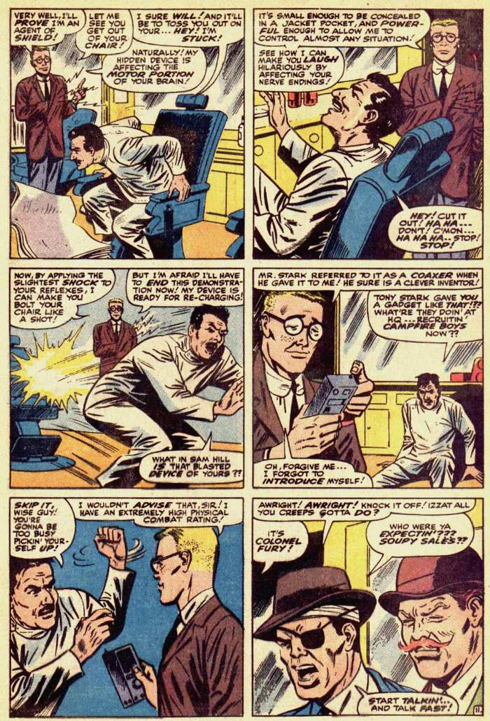 Nick Fury, Agent of SHIELD issue 18 - Page 36