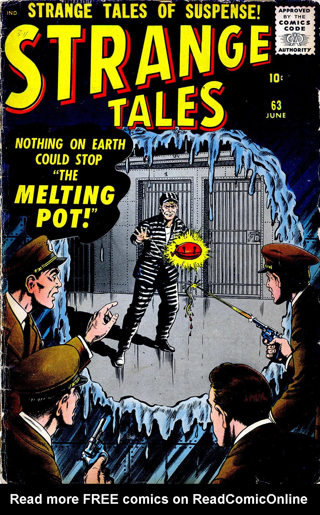 Strange Tales (1951) 63 Page 1