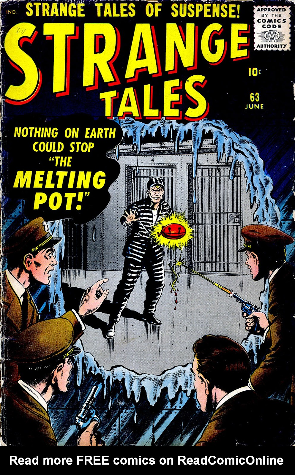 Strange Tales (1951) issue 63 - Page 1