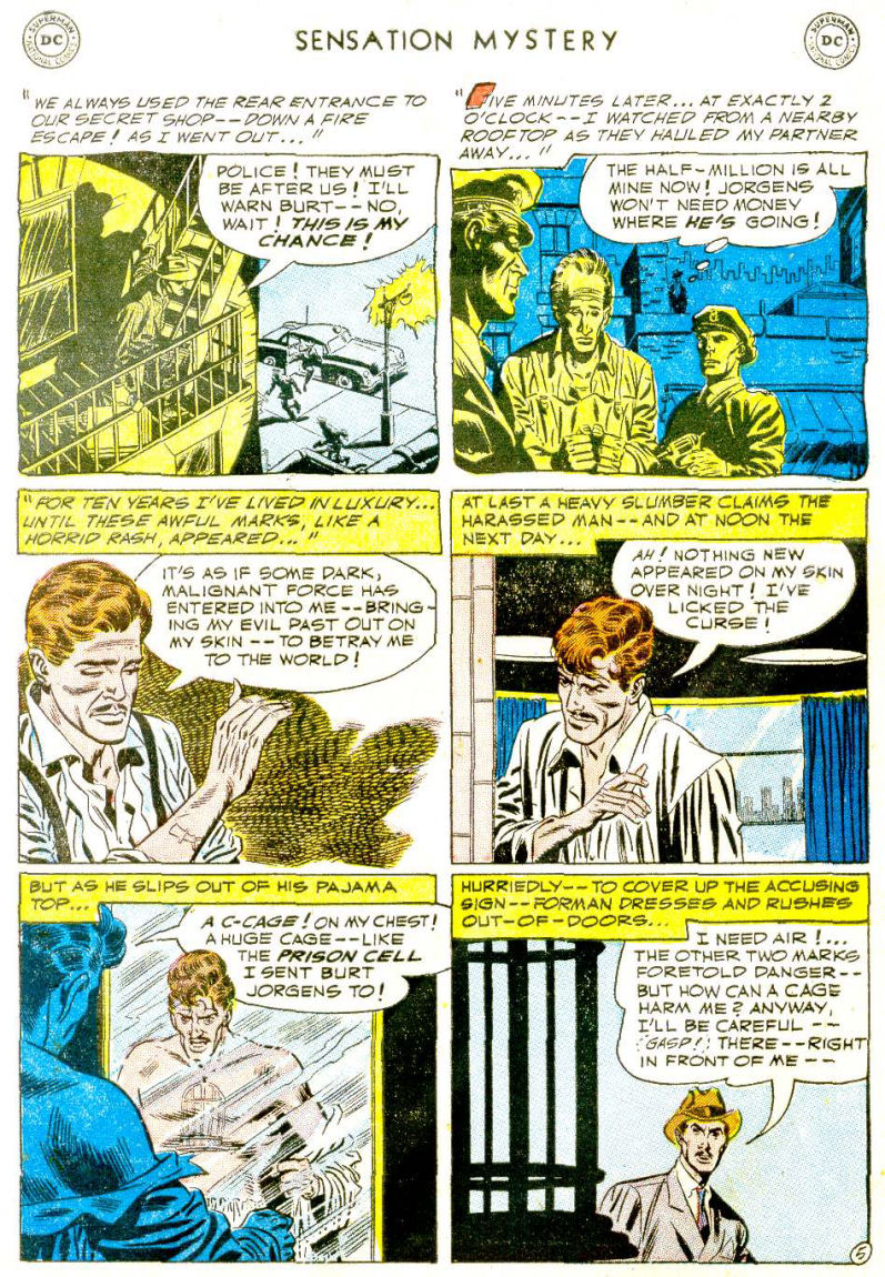 Read online Sensation (Mystery) Comics comic -  Issue #112 - 29
