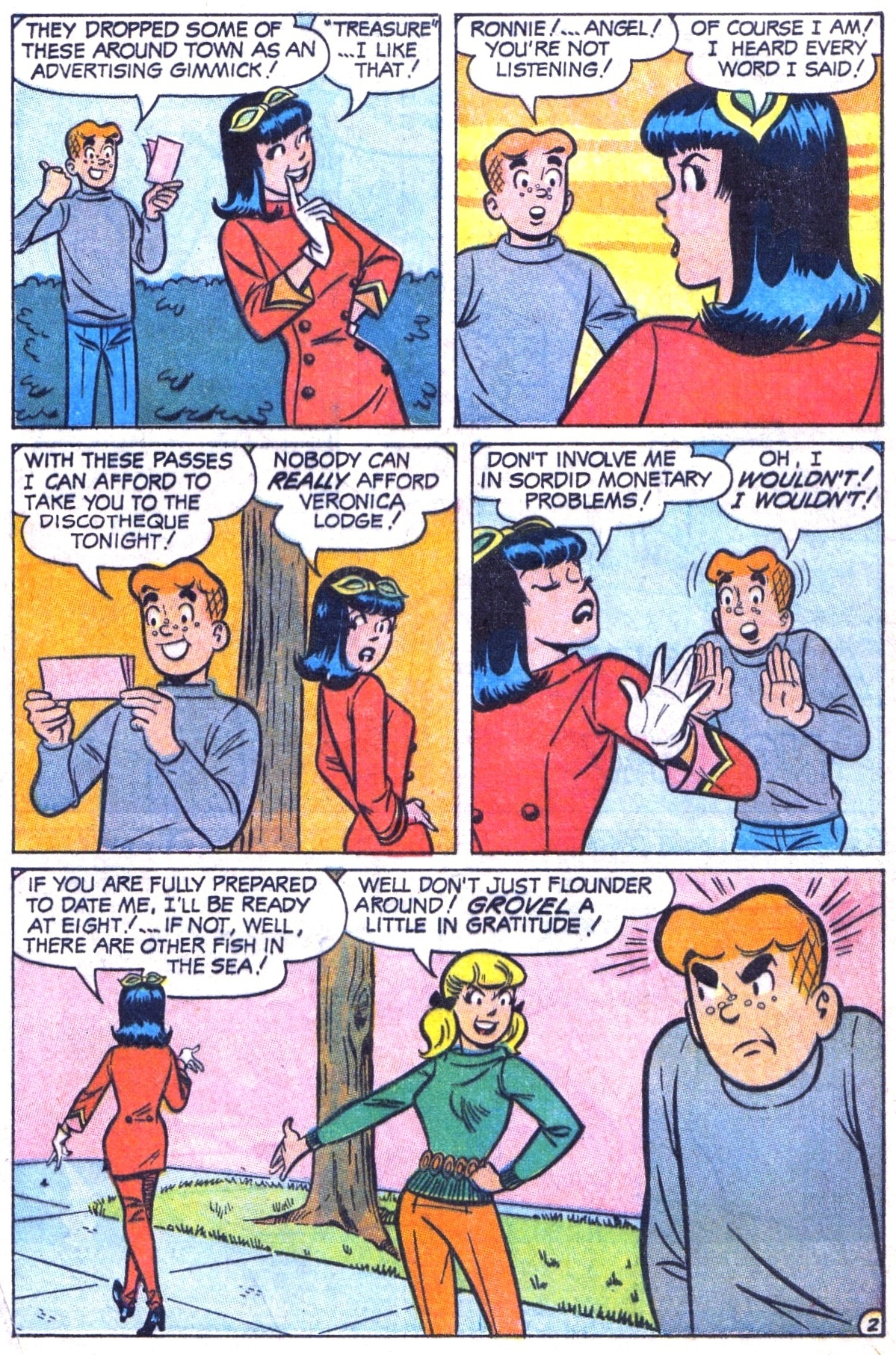 Read online Archie (1960) comic -  Issue #182 - 4