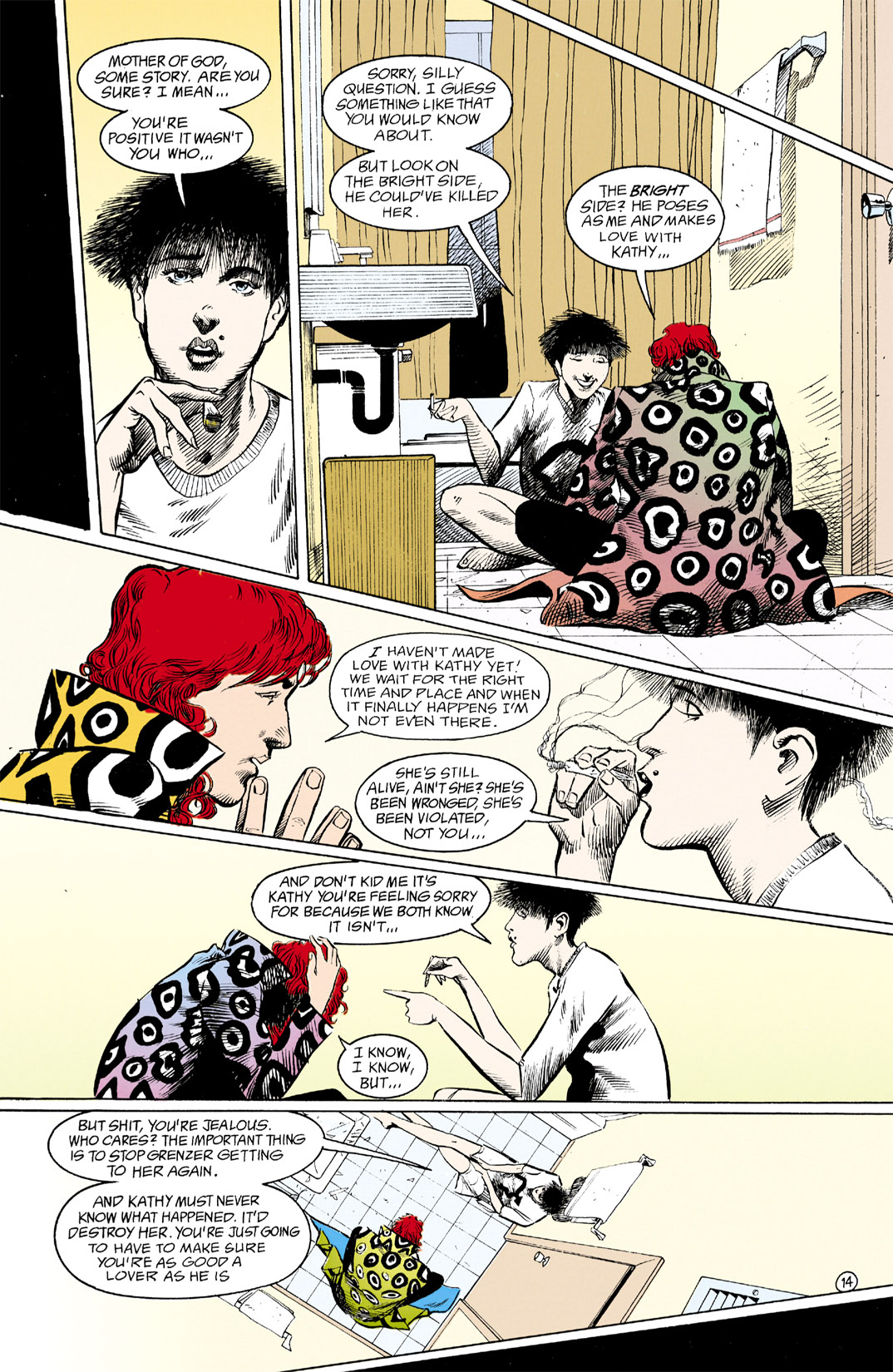 Read online Shade, the Changing Man comic -  Issue #12 - 15
