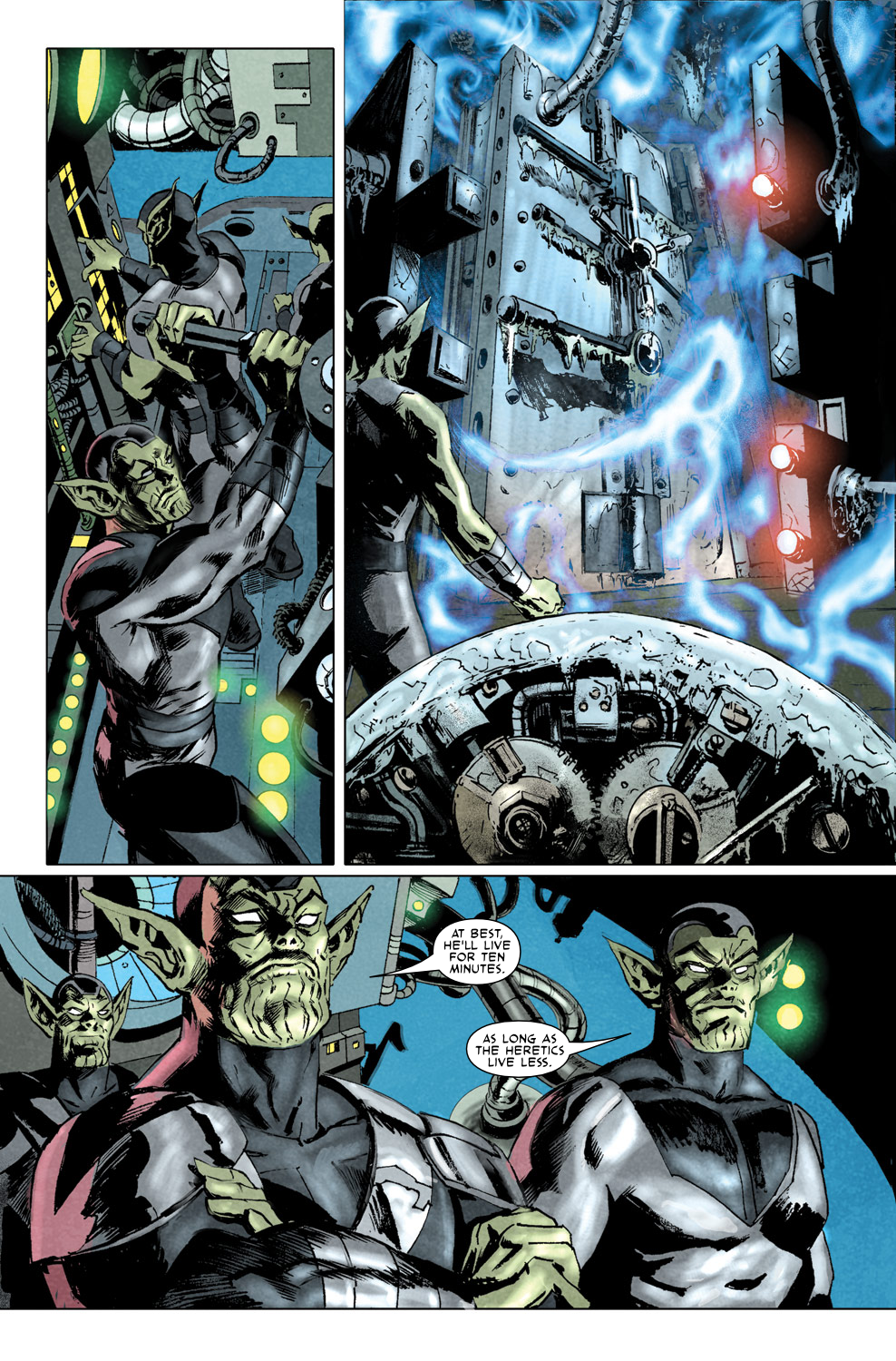Read online Secret Invasion Aftermath: Beta Ray Bill - The Green of Eden comic -  Issue # Full - 22