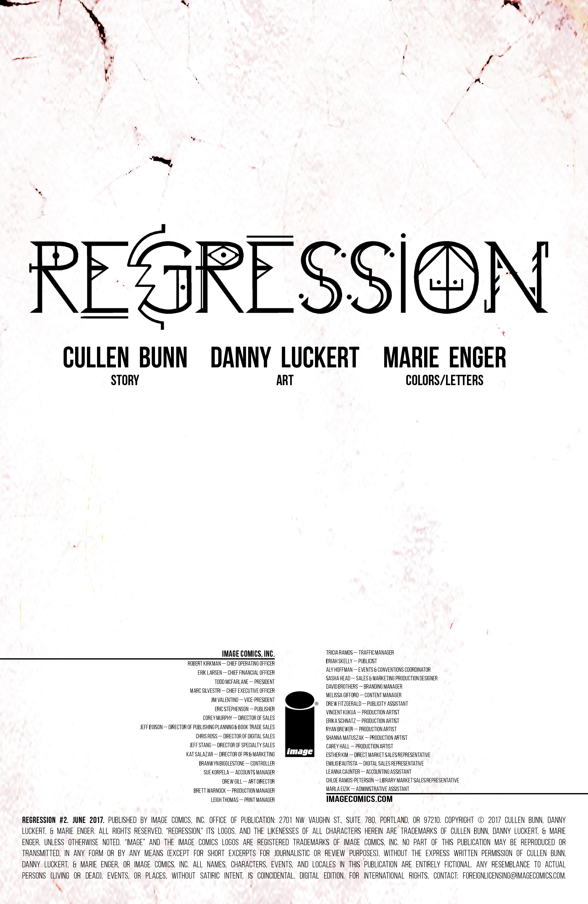 Read online Regression comic -  Issue #2 - 2