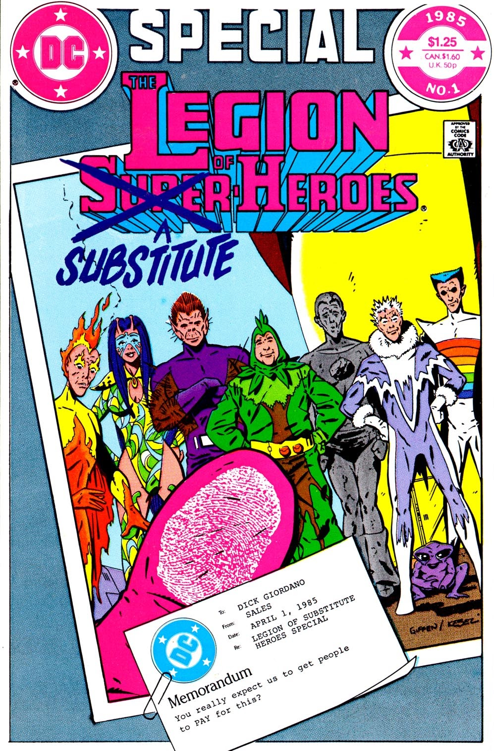 Legion of Substitute Heroes Special Full Page 1