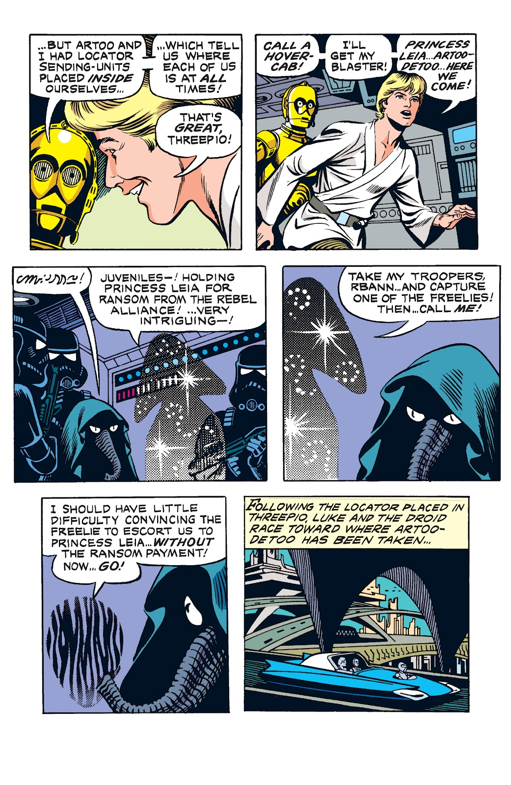 Read online Star Wars Legends: The Newspaper Strips - Epic Collection comic -  Issue # TPB (Part 2) - 8
