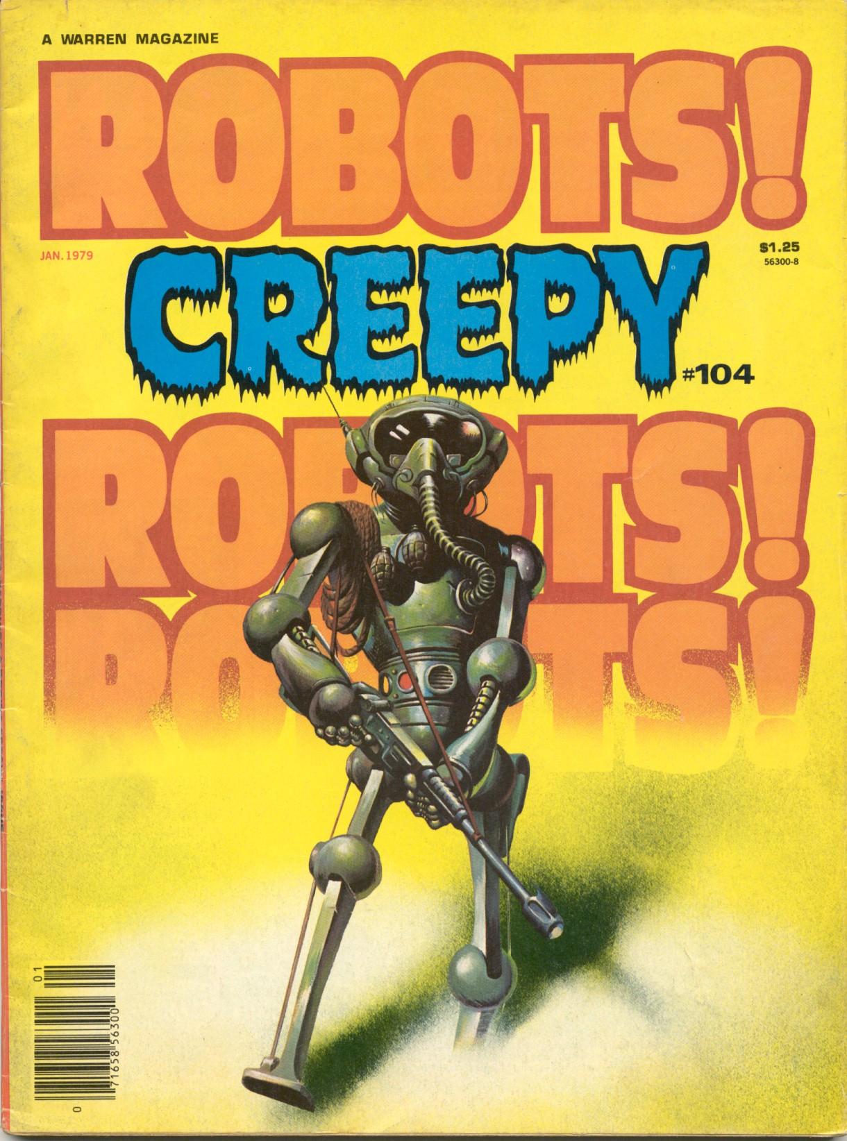 Creepy (1964) 104 Page 1