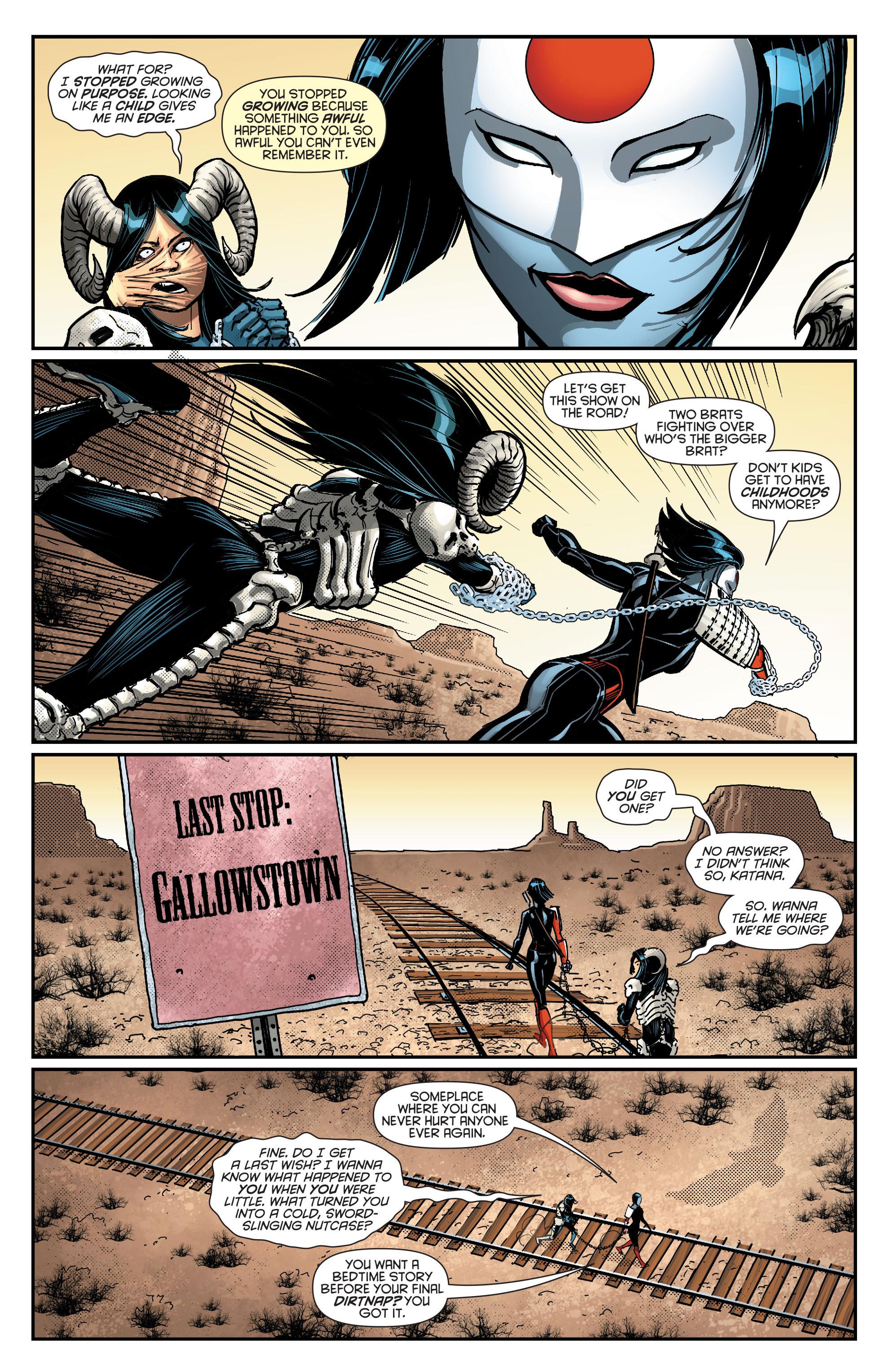 Read online Secret Origins (2014) comic -  Issue #8 - 24