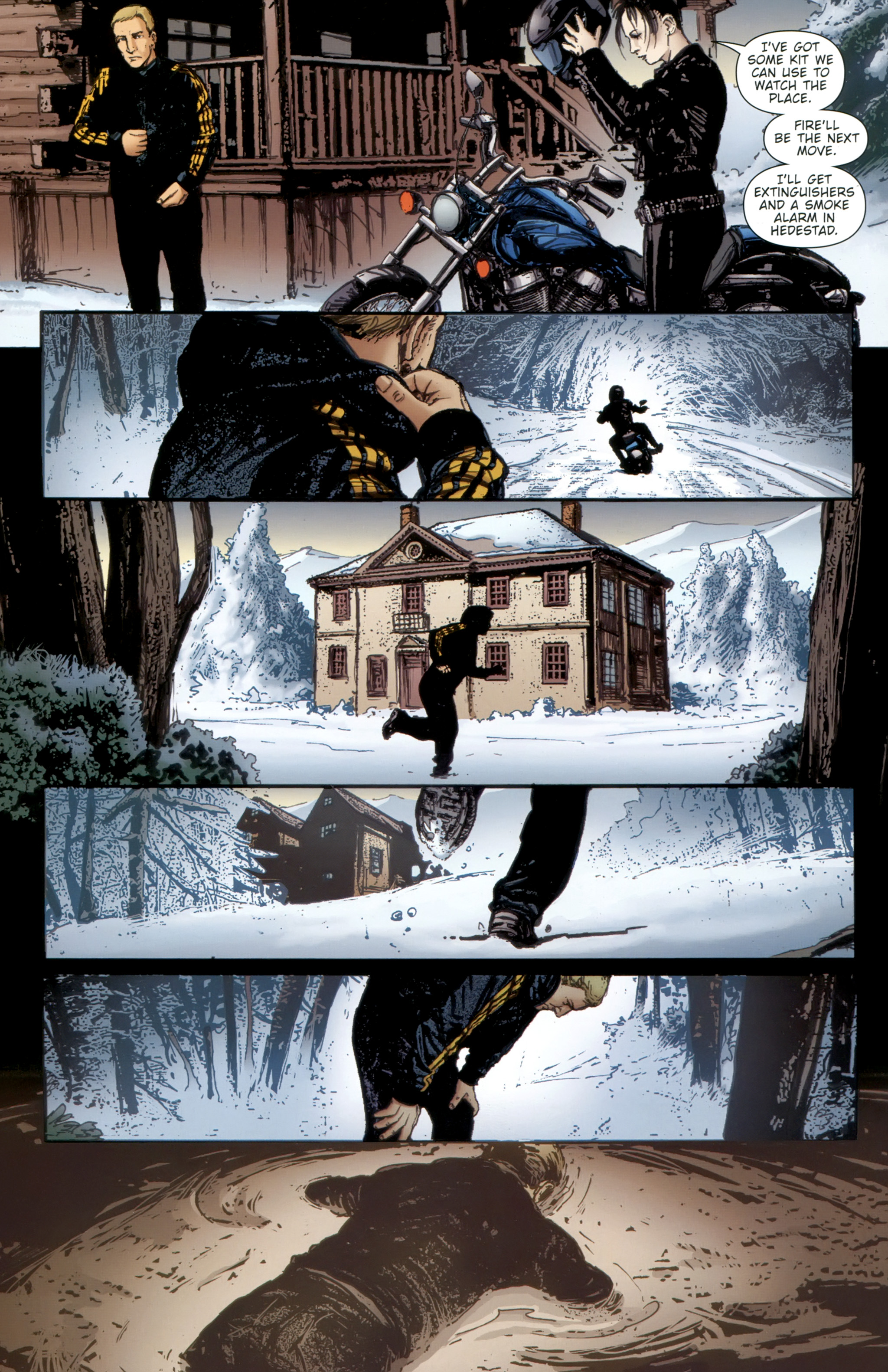 Read online The Girl With the Dragon Tattoo comic -  Issue # TPB 2 - 70