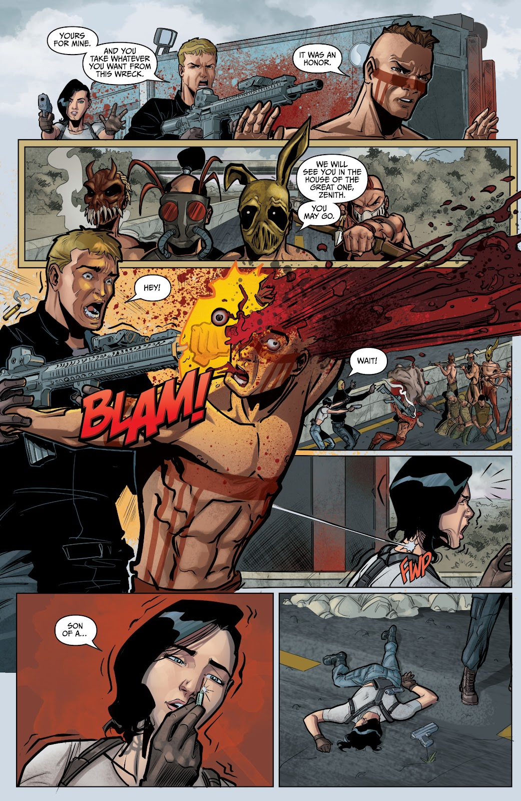 The Courier: Liberty & Death issue 2 - Page 7