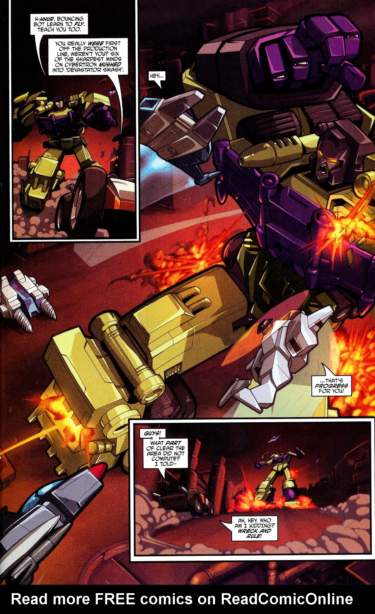 """Read online Transformers War Within: """"The Dark Ages"""" comic -  Issue #2 - 14"""
