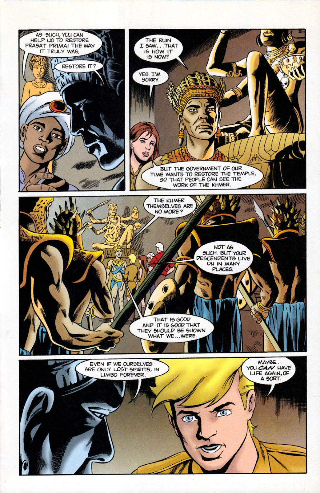 Read online The Real Adventures of Jonny Quest comic -  Issue #11 - 27
