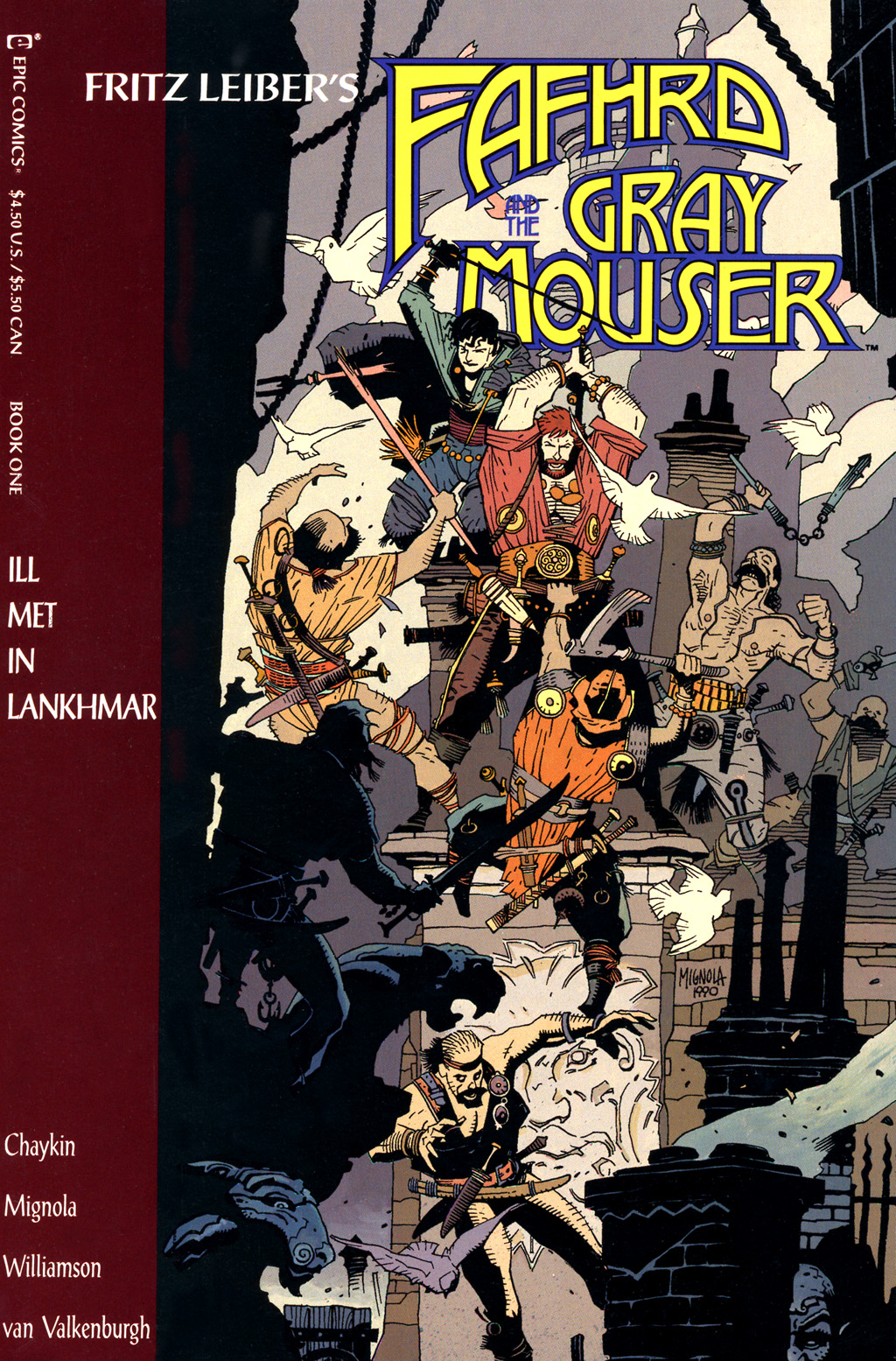 Fafhrd and the Gray Mouser #1 - Read Fafhrd and the Gray