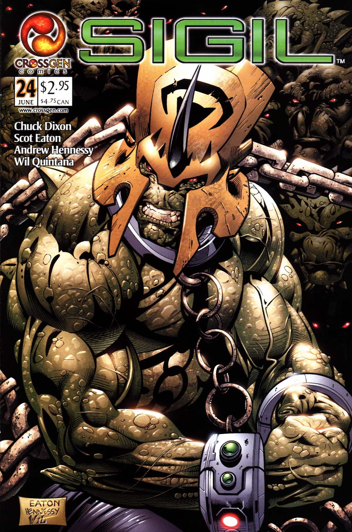 Read online Sigil (2000) comic -  Issue #24 - 1