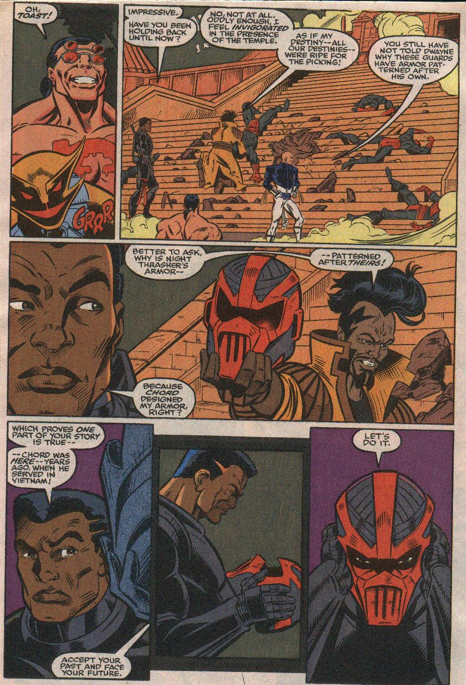 The New Warriors Issue #23 #27 - English 4
