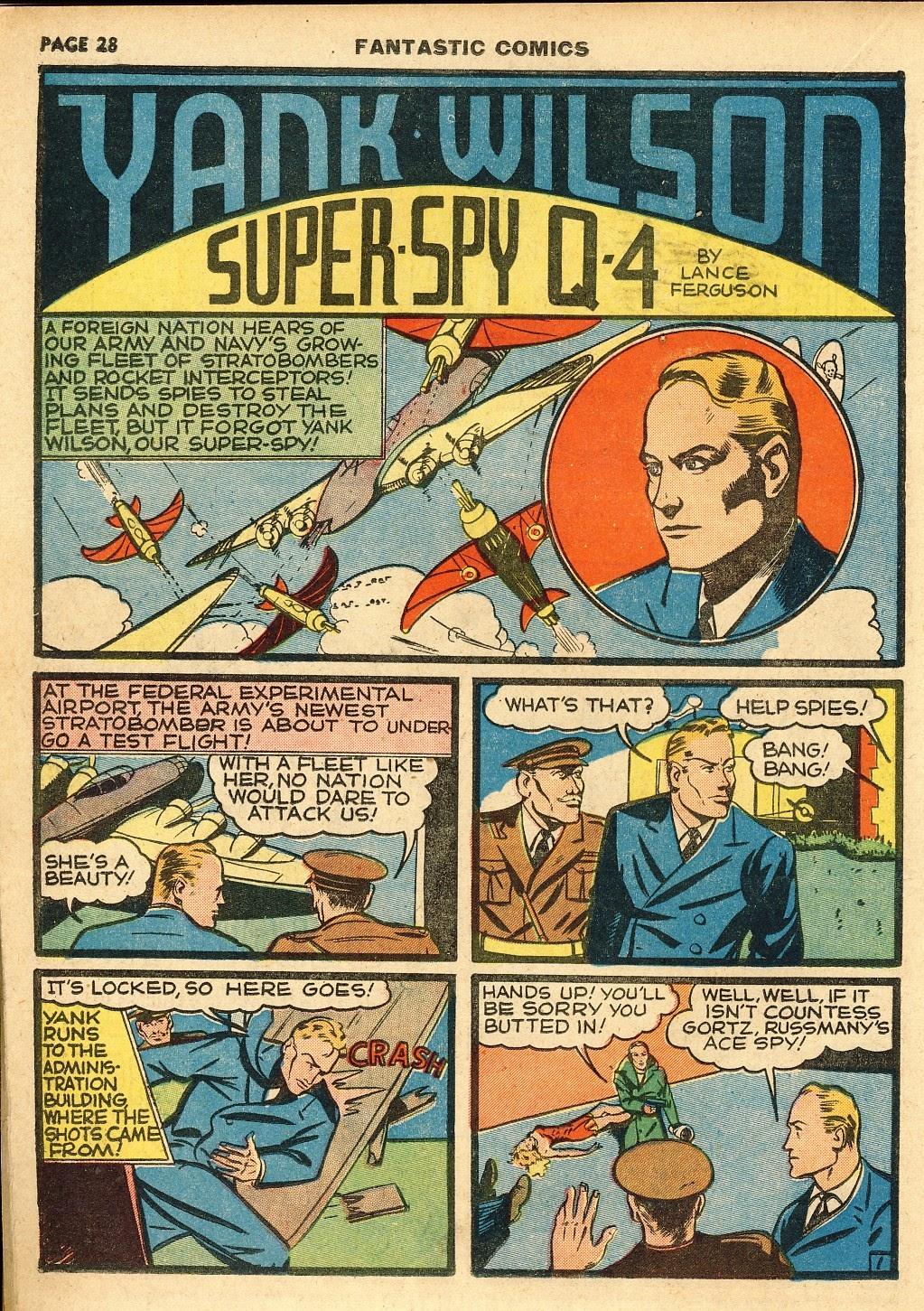 Read online Fantastic Comics comic -  Issue #10 - 29