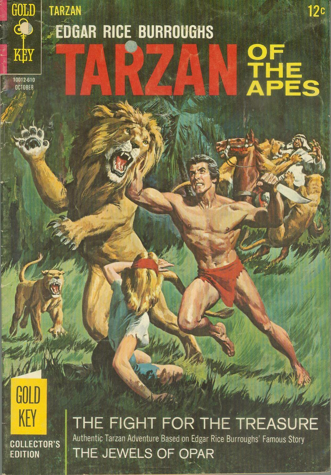 Tarzan (1962) issue 161 - Page 1