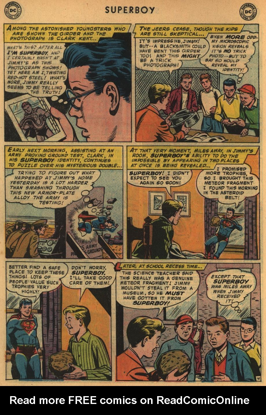 Superboy (1949) issue 64 - Page 5