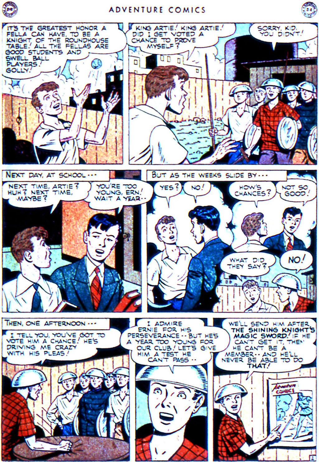 Read online Adventure Comics (1938) comic -  Issue #119 - 23
