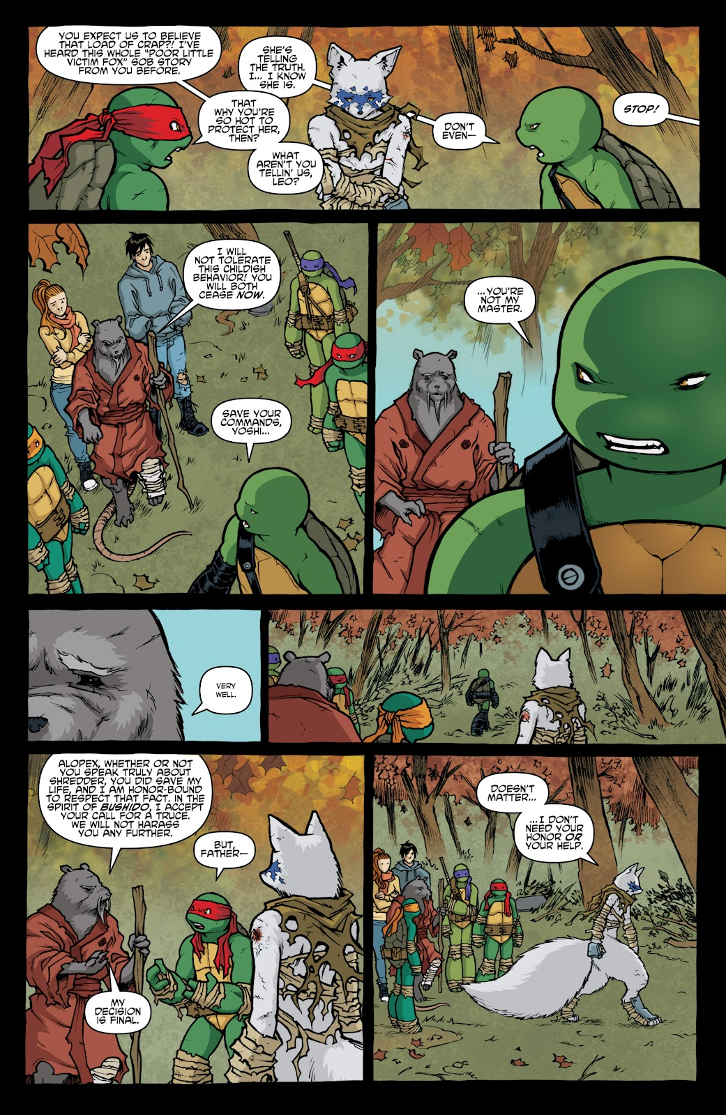 Read online Teenage Mutant Ninja Turtles: The IDW Collection comic -  Issue # TPB 4 (Part 1) - 21