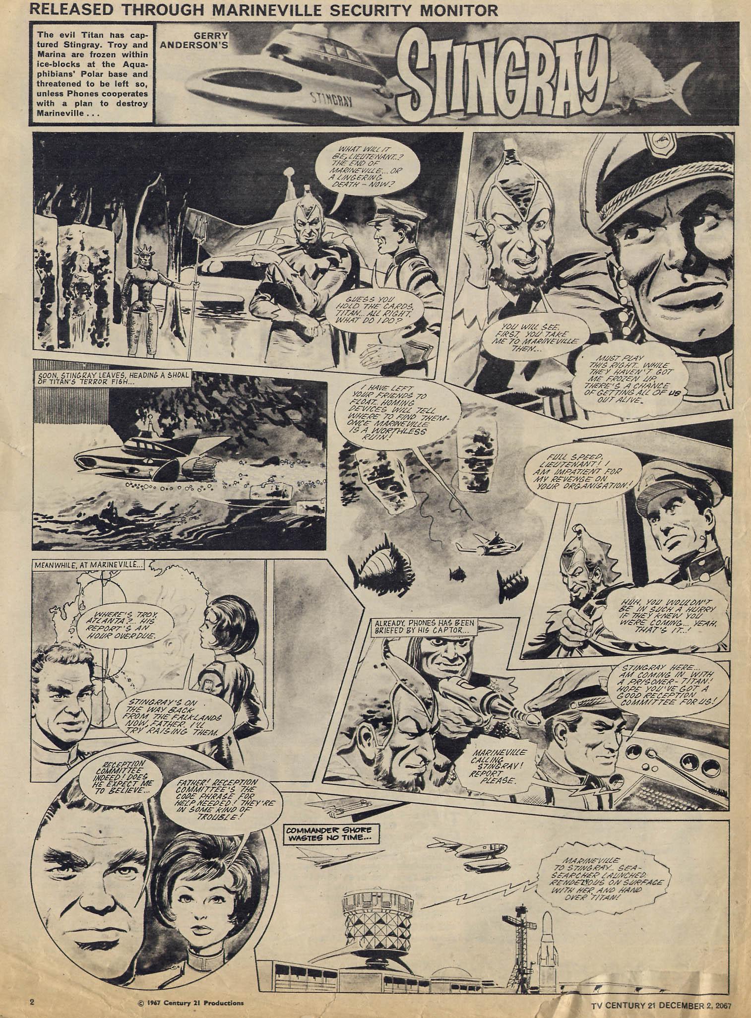 Read online TV Century 21 (TV 21) comic -  Issue #150 - 2