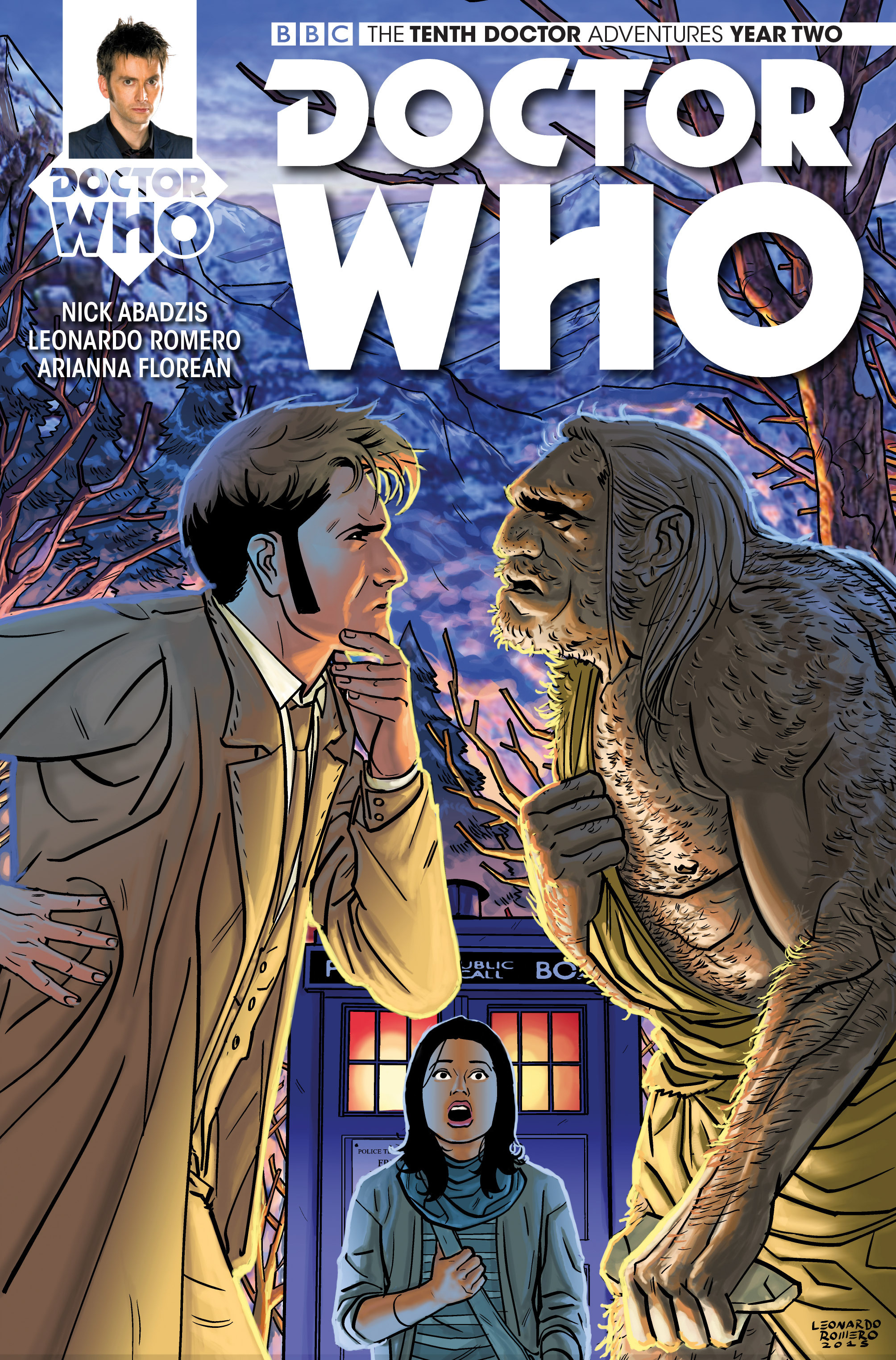 Doctor Who: The Tenth Doctor Year Two 4 Page 1