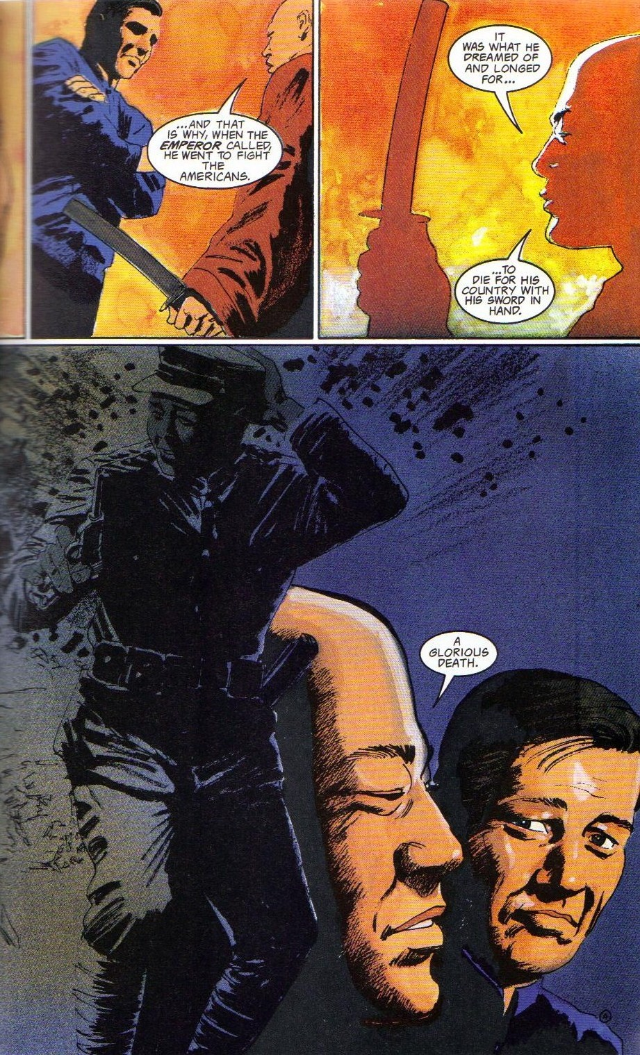 Read online Shado: Song of the Dragon comic -  Issue #4 - 7