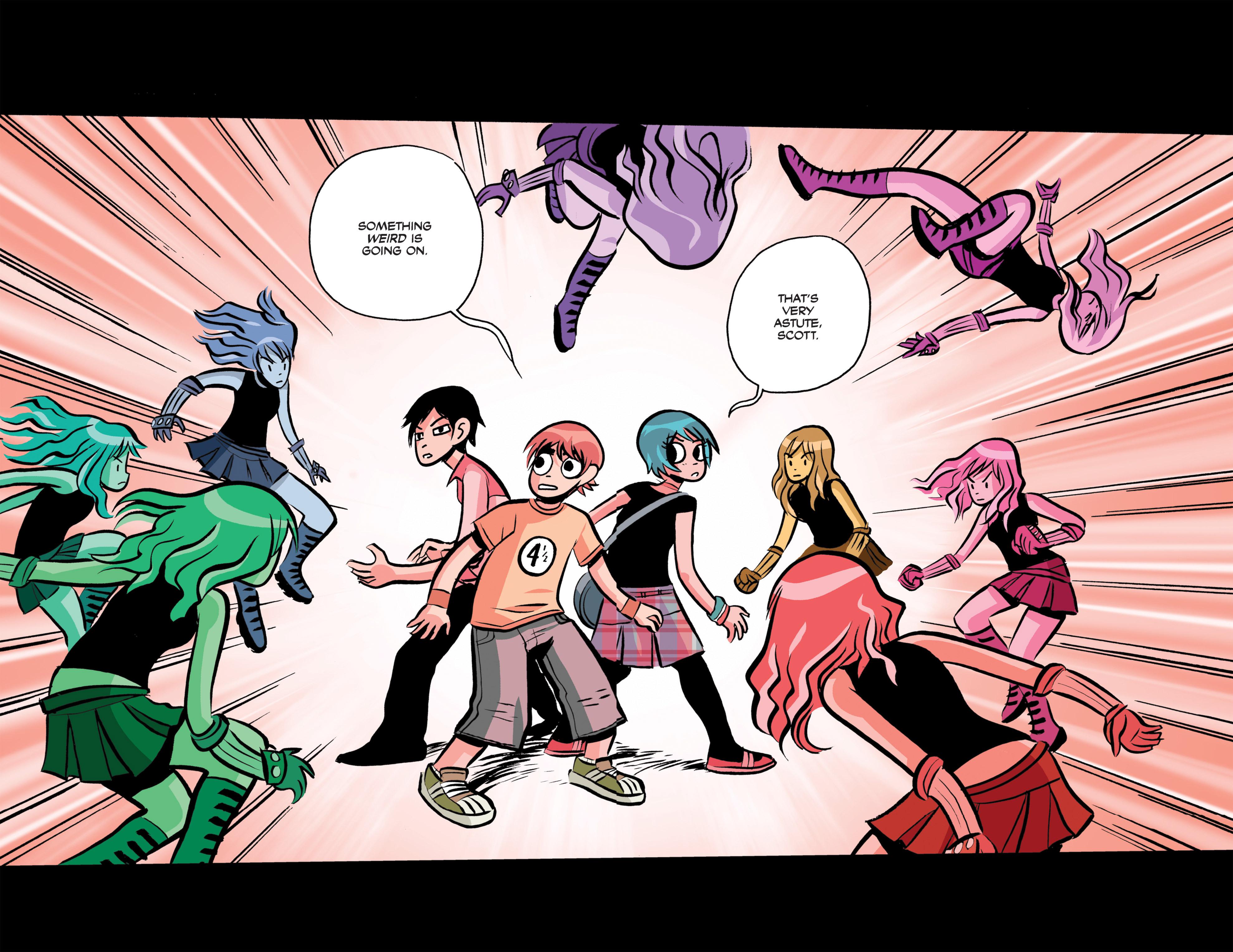 Read online Scott Pilgrim Free Comic Book Day Story comic -  Issue # Full - 7