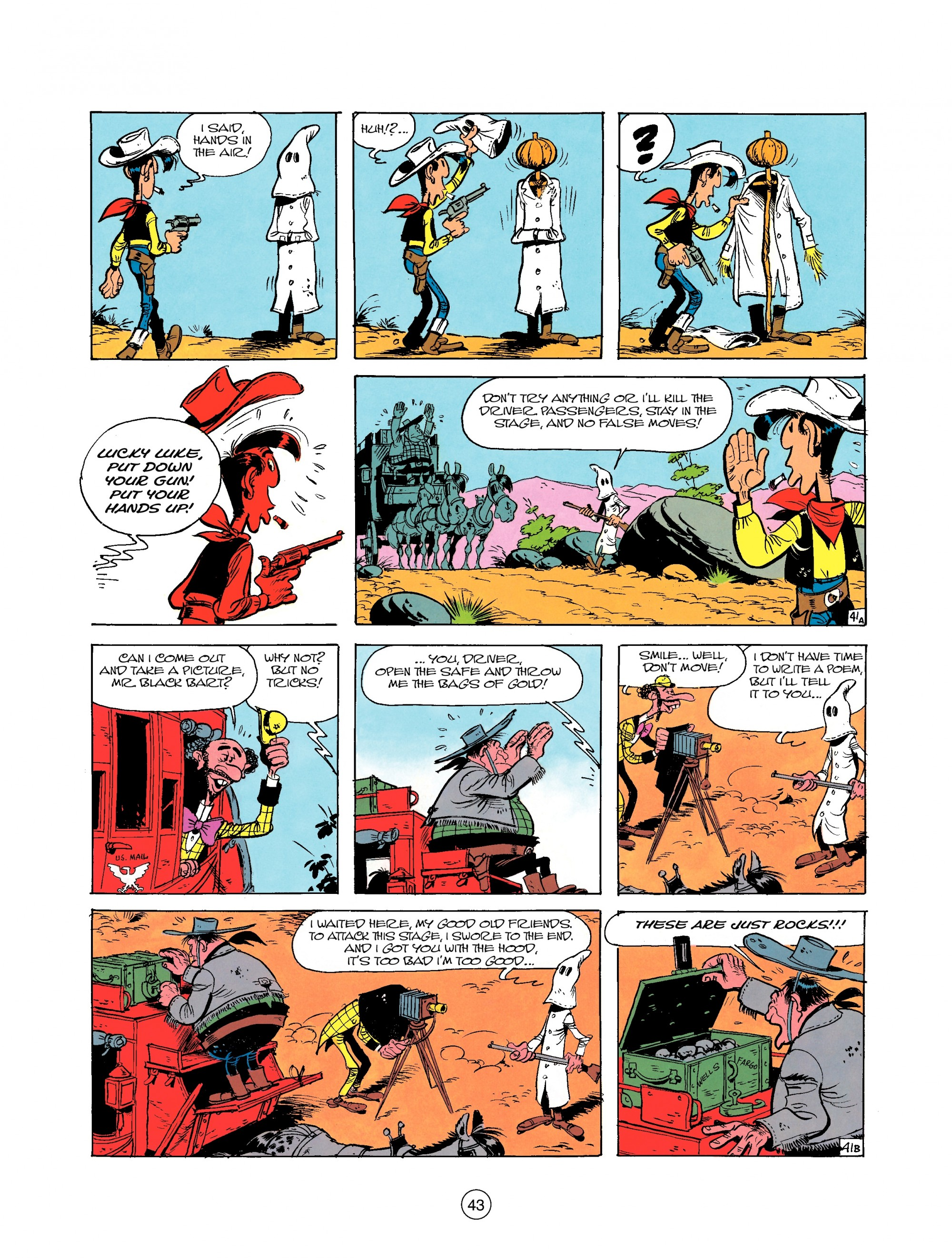 Read online A Lucky Luke Adventure comic -  Issue #25 - 43