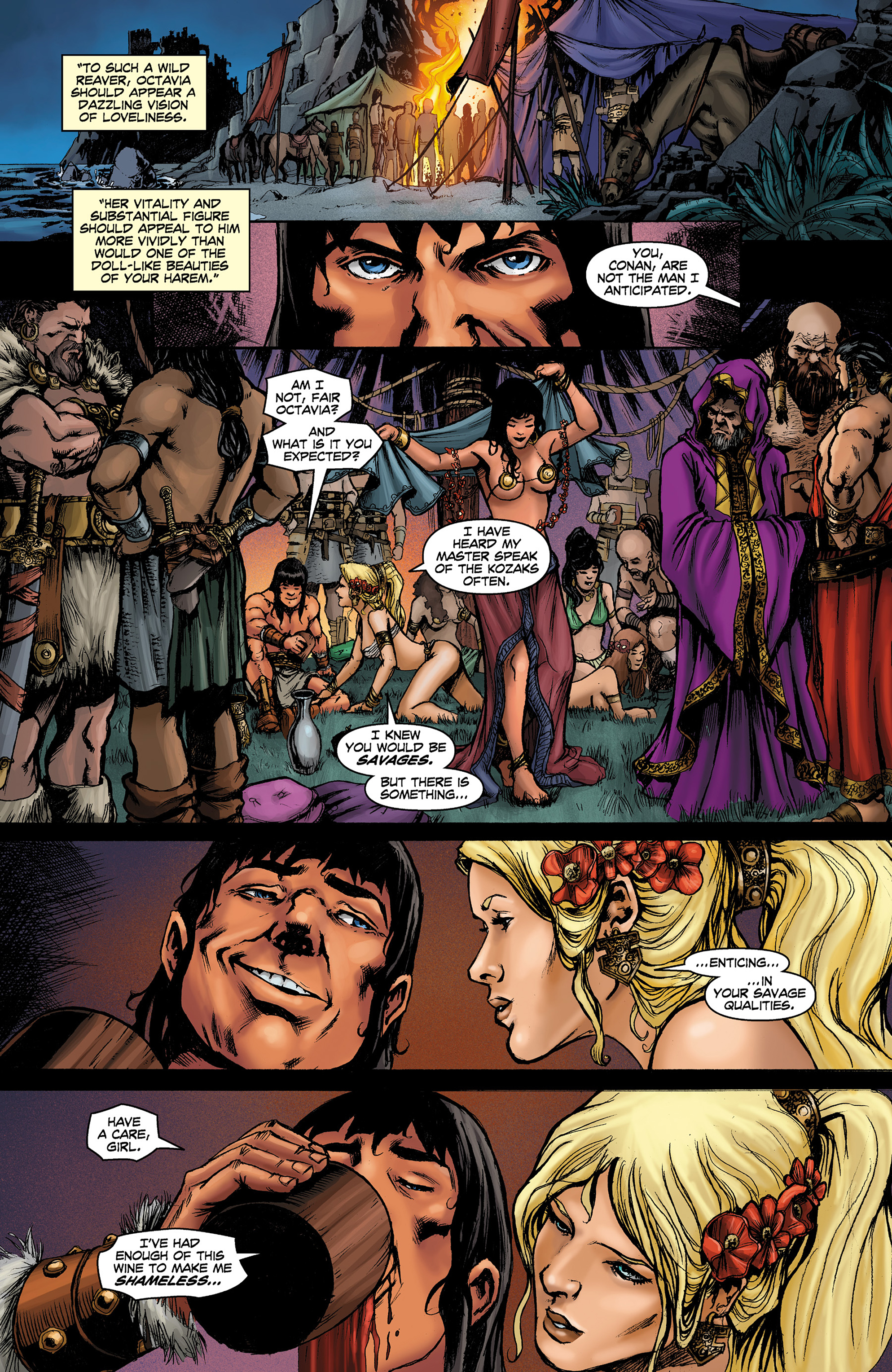 Read online Conan The Slayer comic -  Issue #8 - 11