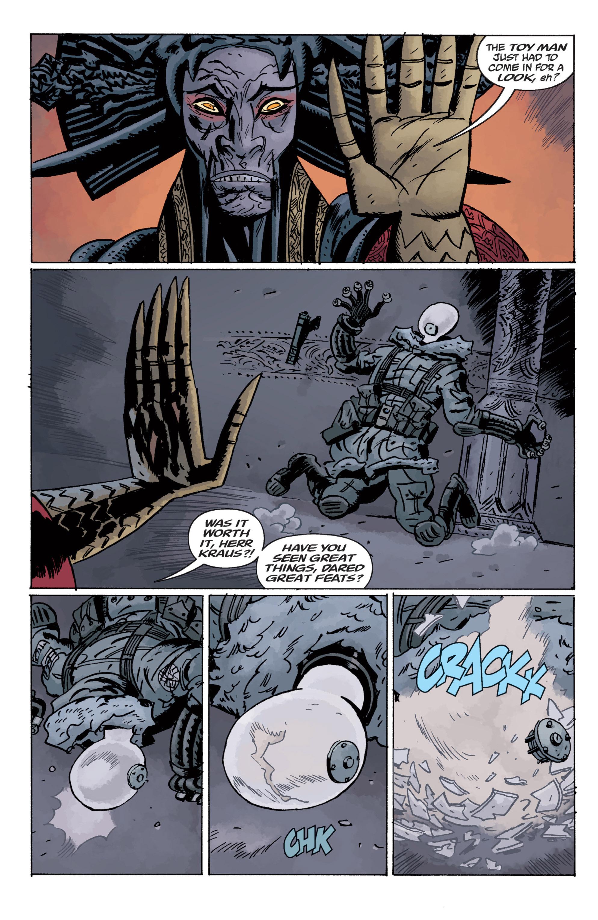 Read online B.P.R.D. (2003) comic -  Issue # TPB 11 - 115