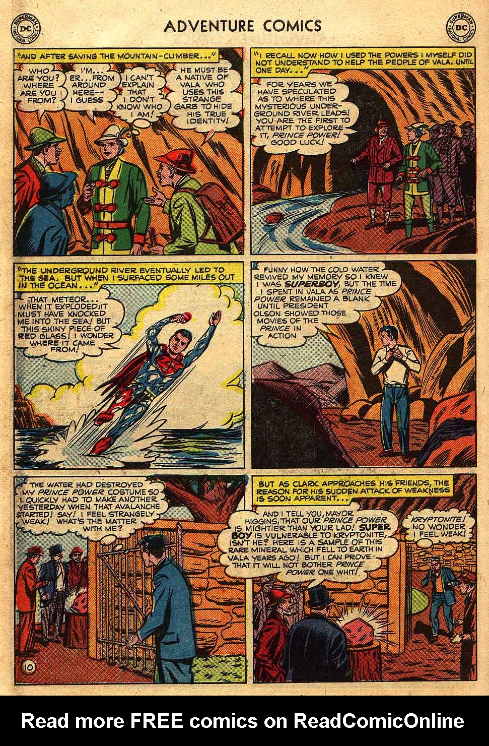 Read online Adventure Comics (1938) comic -  Issue #175 - 12