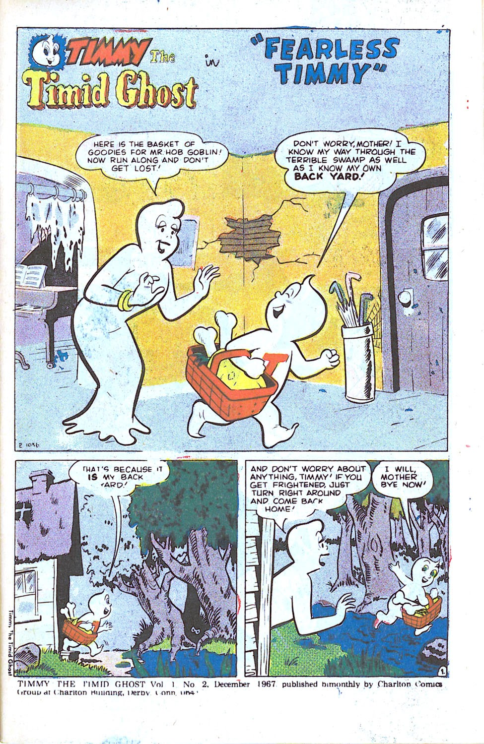 Timmy the Timid Ghost issue 2 - Page 3